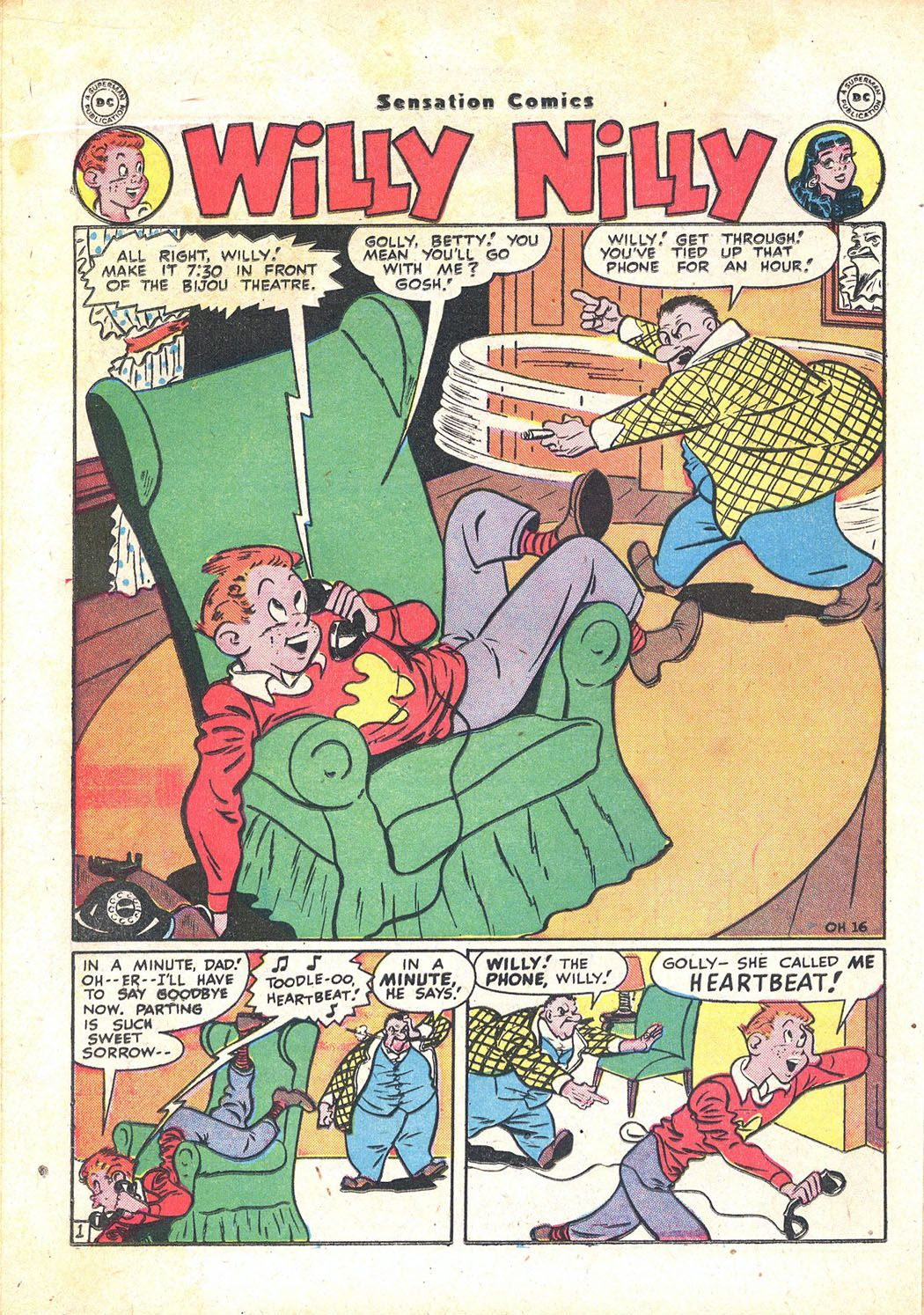 Read online Sensation (Mystery) Comics comic -  Issue #71 - 32