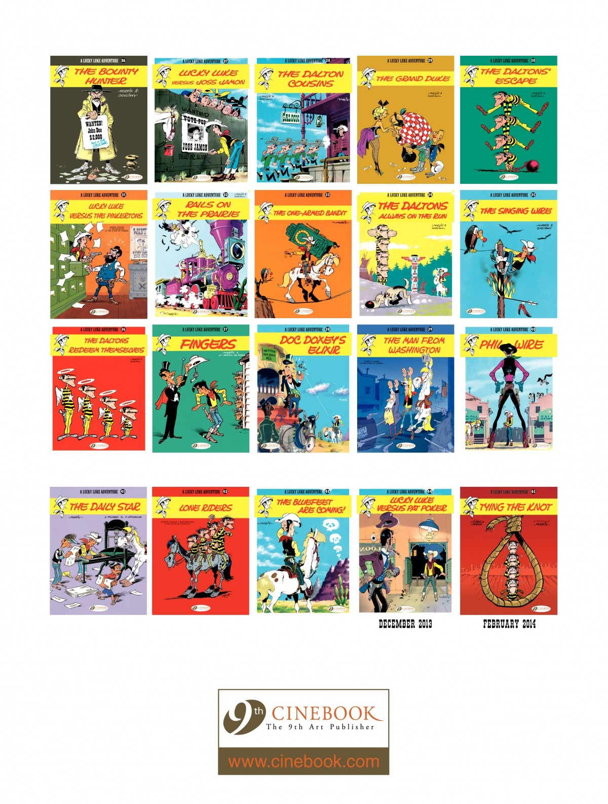 Read online A Lucky Luke Adventure comic -  Issue #43 - 48