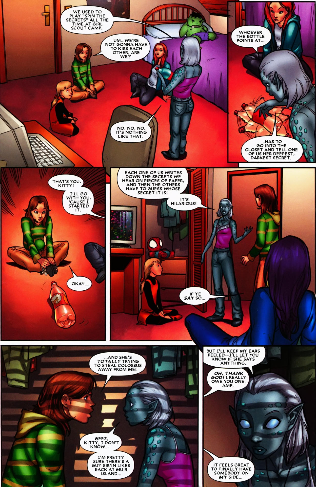 Read online Wolverine: First Class comic -  Issue #6 - 12