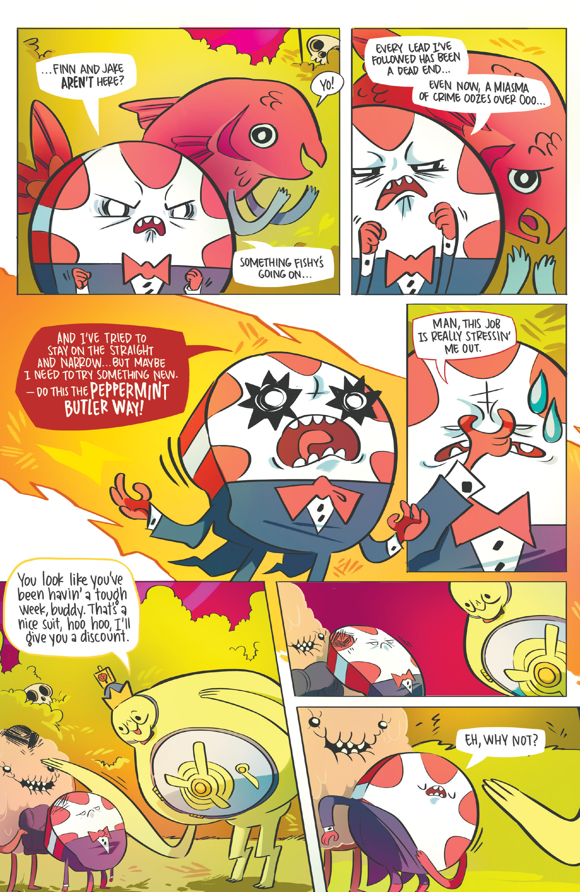 Read online Adventure Time: Candy Capers comic -  Issue #5 - 26
