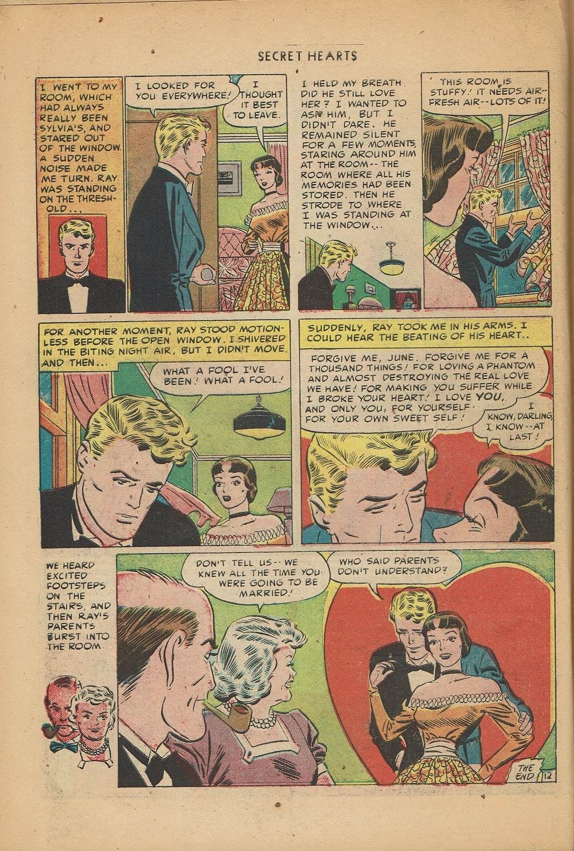 Read online Secret Hearts comic -  Issue #2 - 22