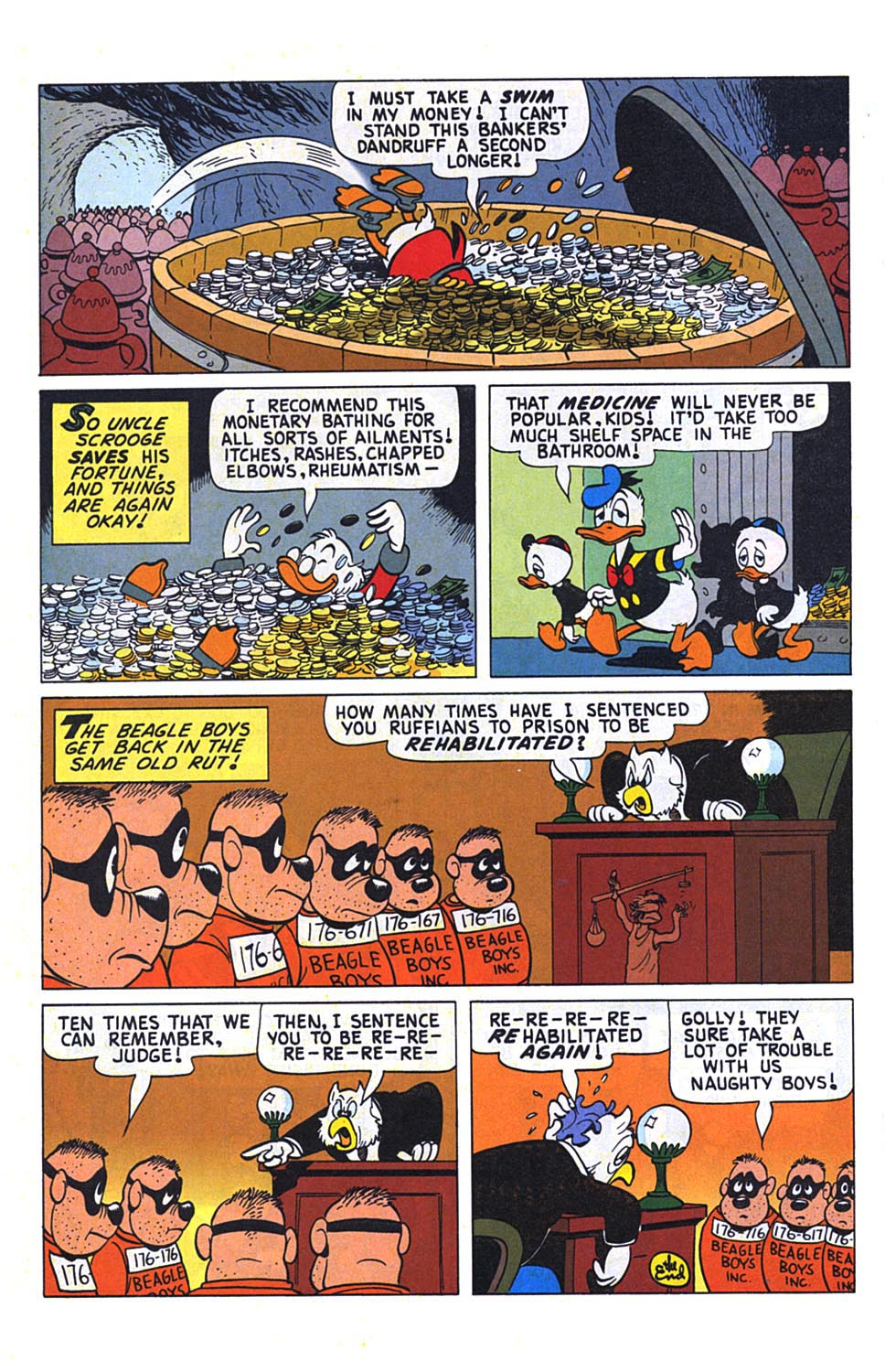 Read online Uncle Scrooge (1953) comic -  Issue #273 - 25