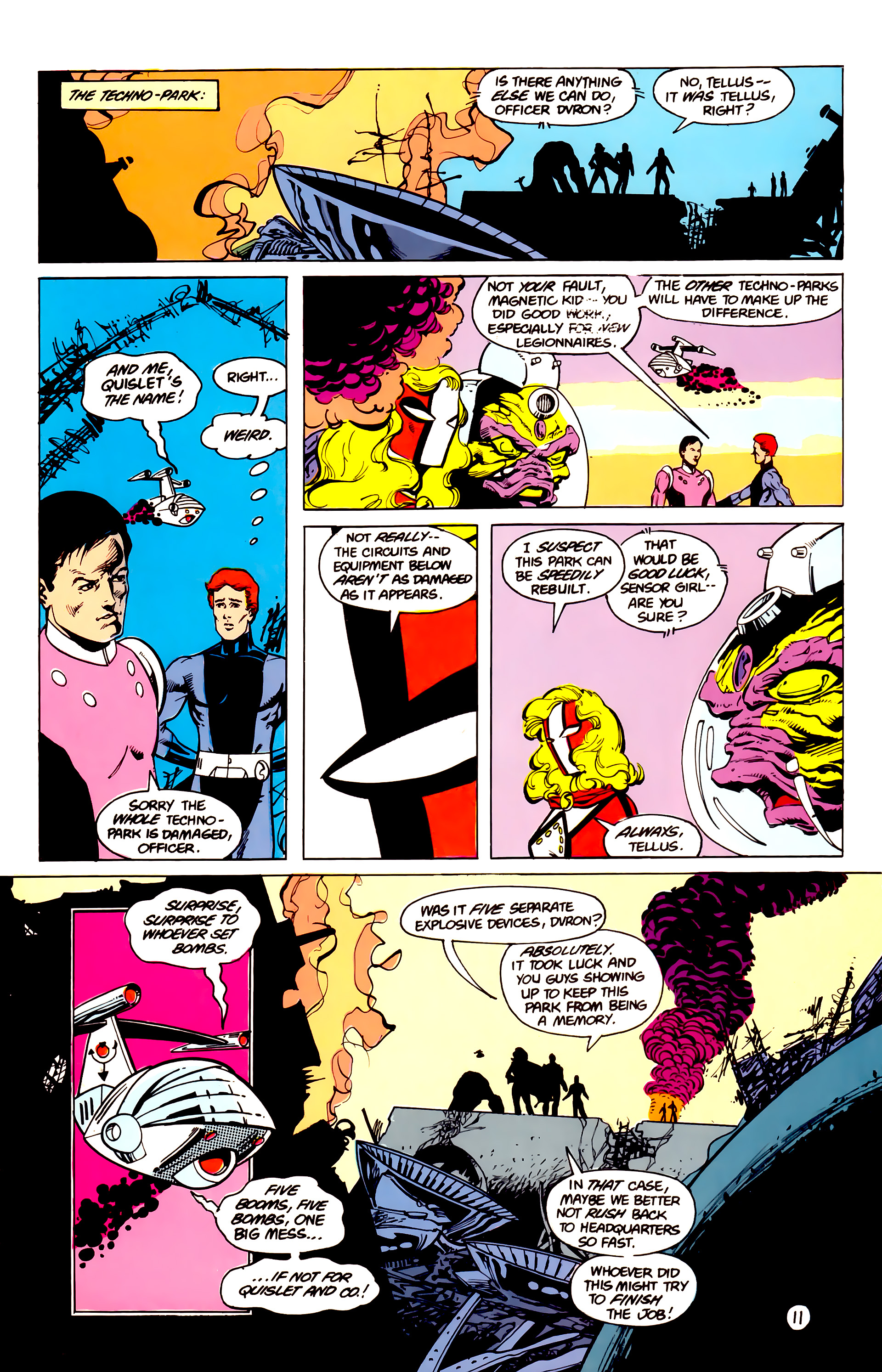 Legion of Super-Heroes (1984) 16 Page 12