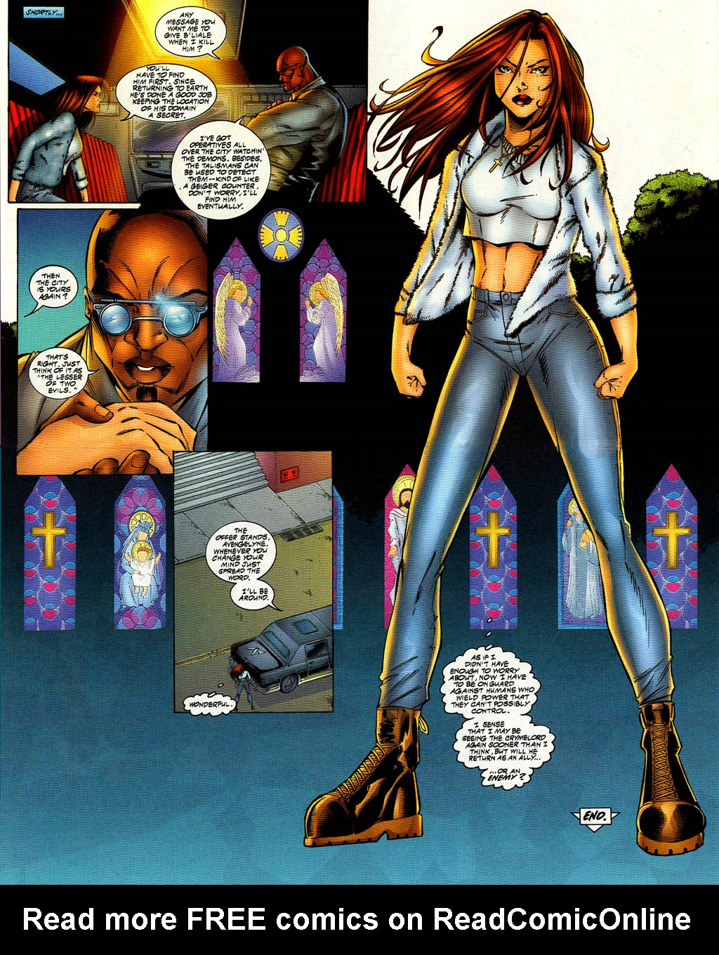 Read online Avengelyne (1996) comic -  Issue #8 - 20