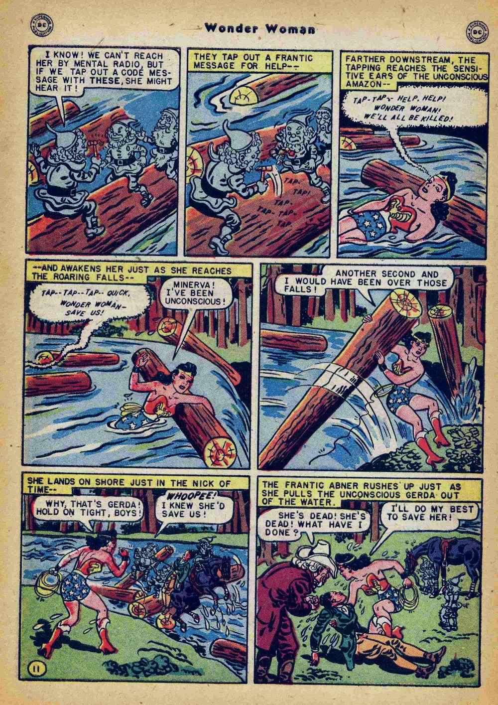 Read online Wonder Woman (1942) comic -  Issue #35 - 48