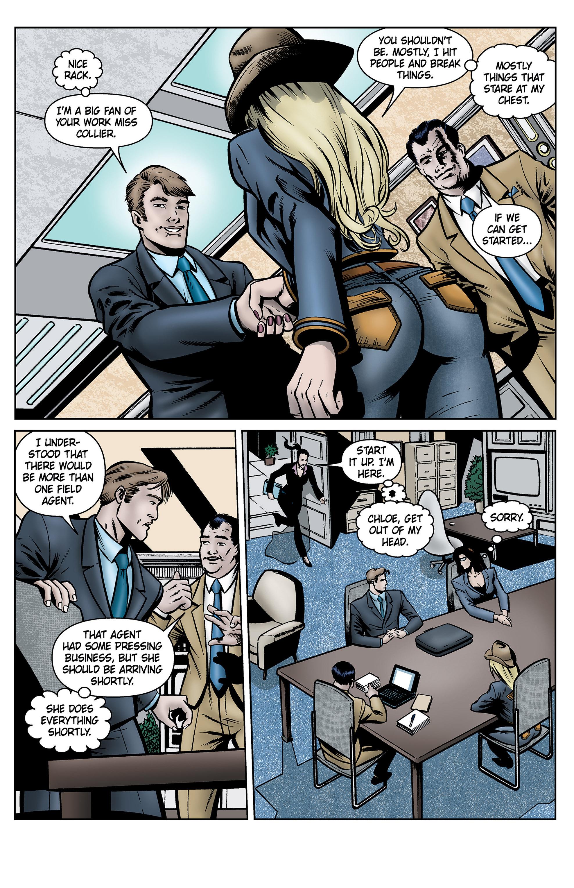 Read online SideChicks comic -  Issue #5 - 22
