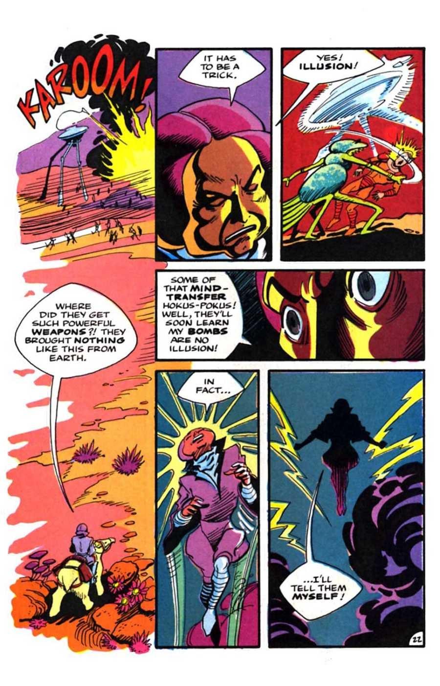 Read online Mars comic -  Issue #9 - 24