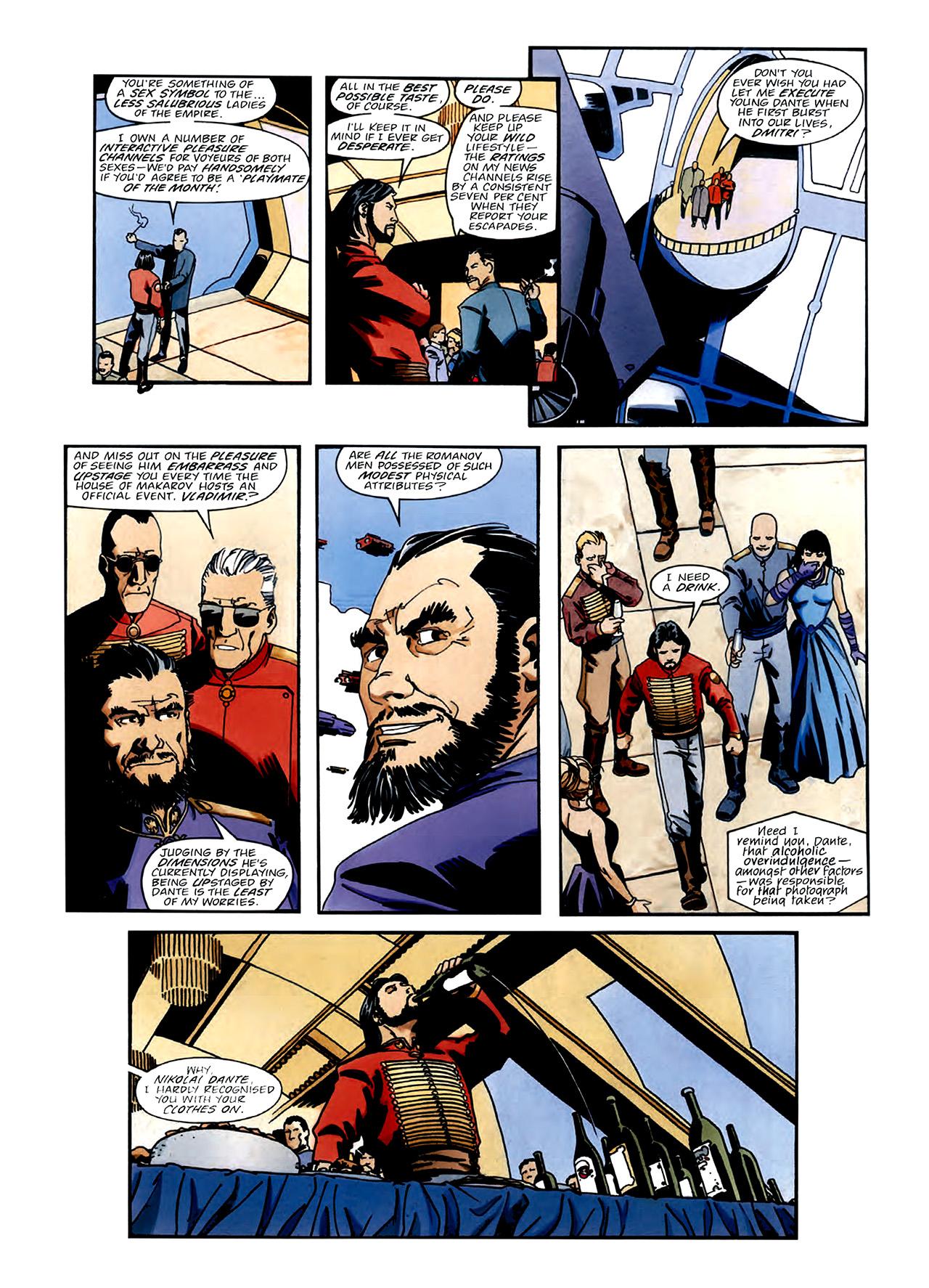 Read online Nikolai Dante comic -  Issue # TPB 3 - 7