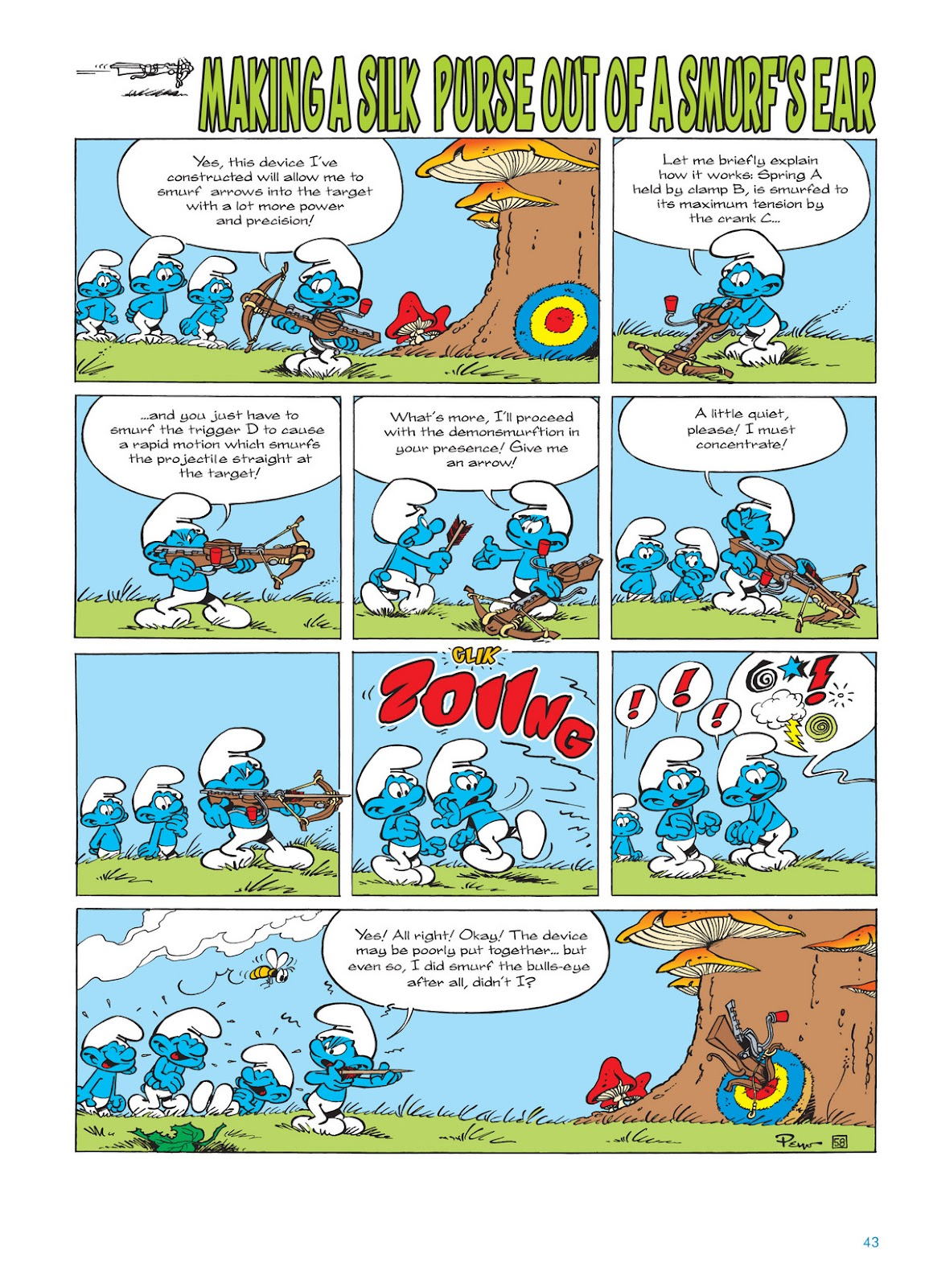 Read online The Smurfs comic -  Issue #11 - 43