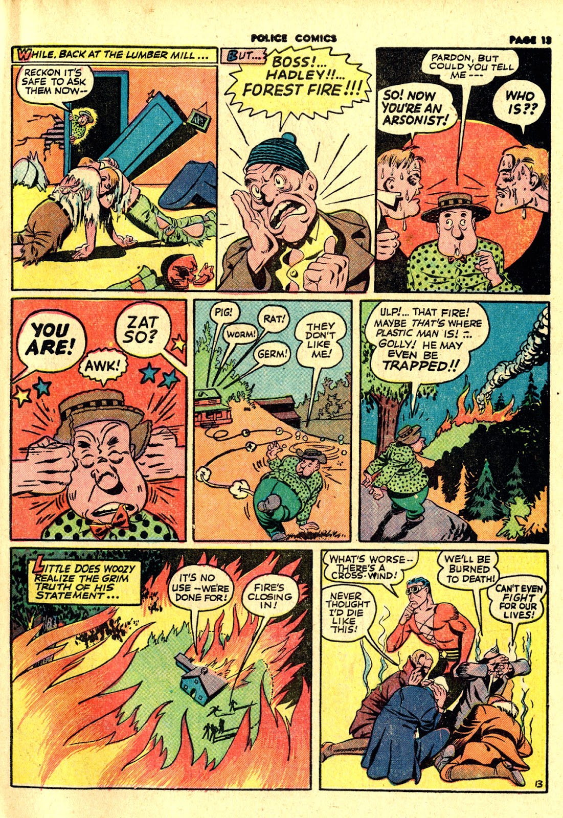 Police Comics issue 19 - Page 15