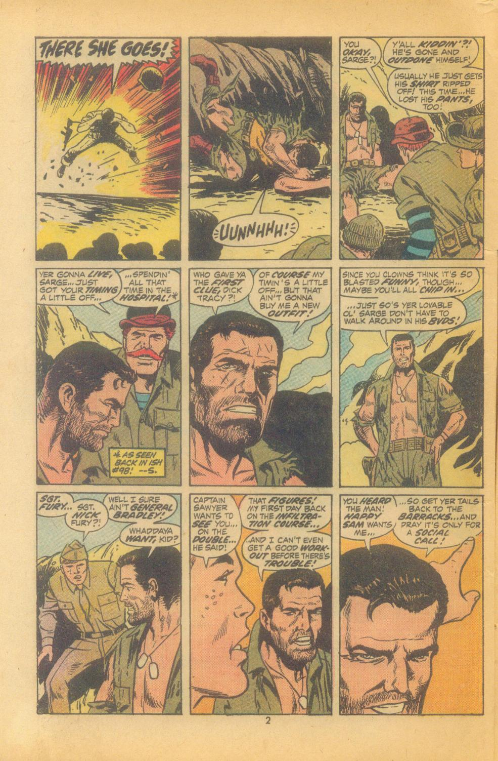 Read online Sgt. Fury comic -  Issue #102 - 4