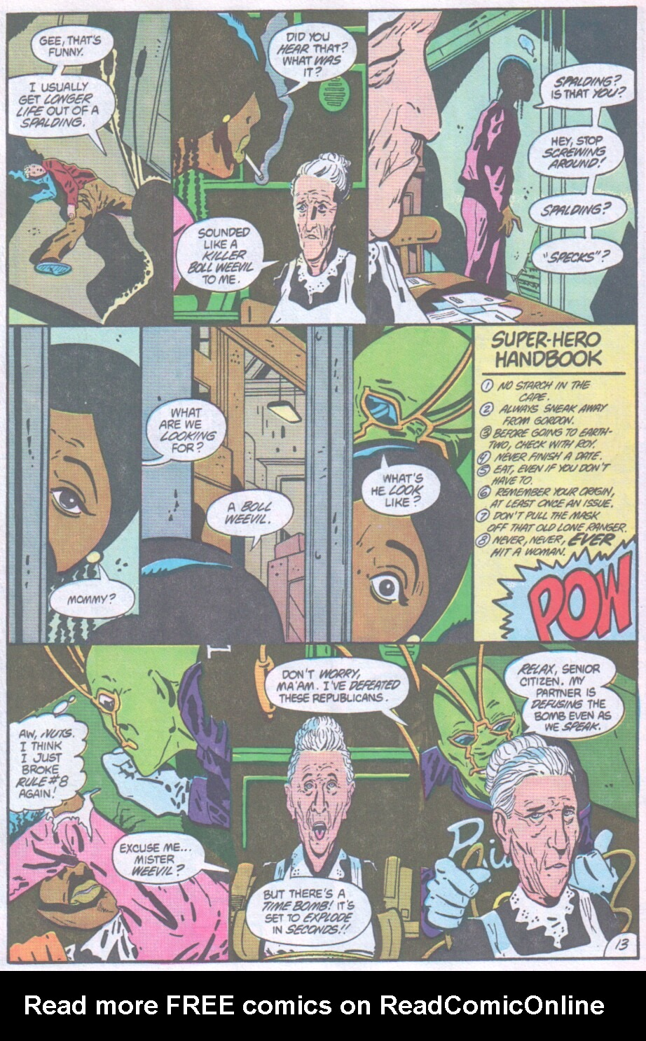 Read online Ambush Bug comic -  Issue #1 - 14
