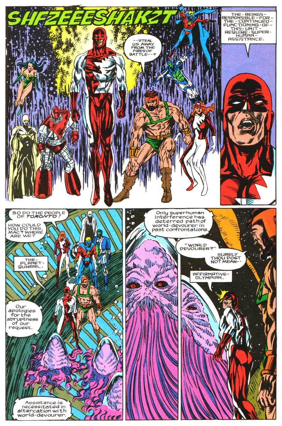 Read online Alpha Flight Special comic -  Issue #3 - 23