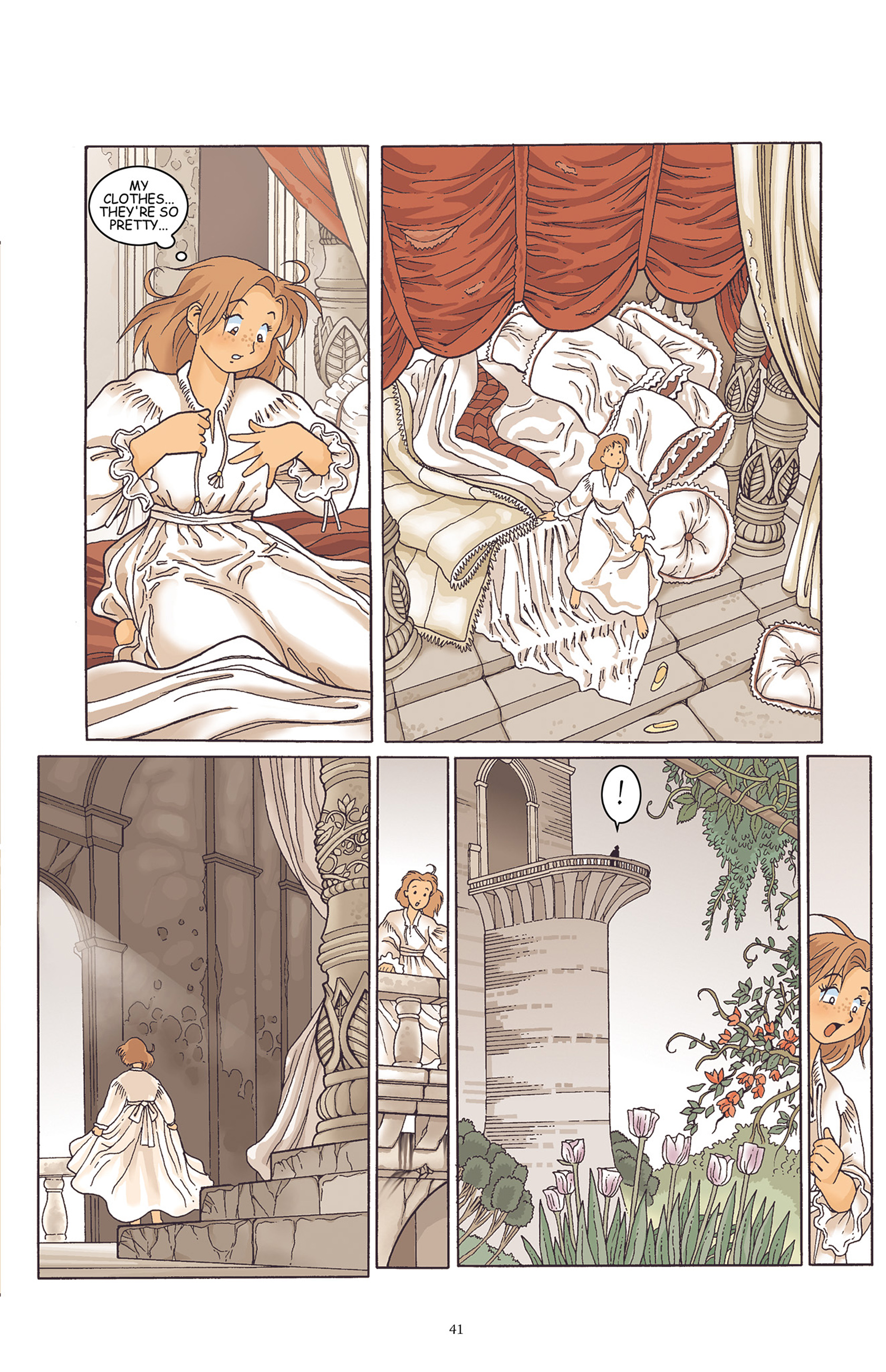 Read online Courageous Princess comic -  Issue # TPB 1 - 42