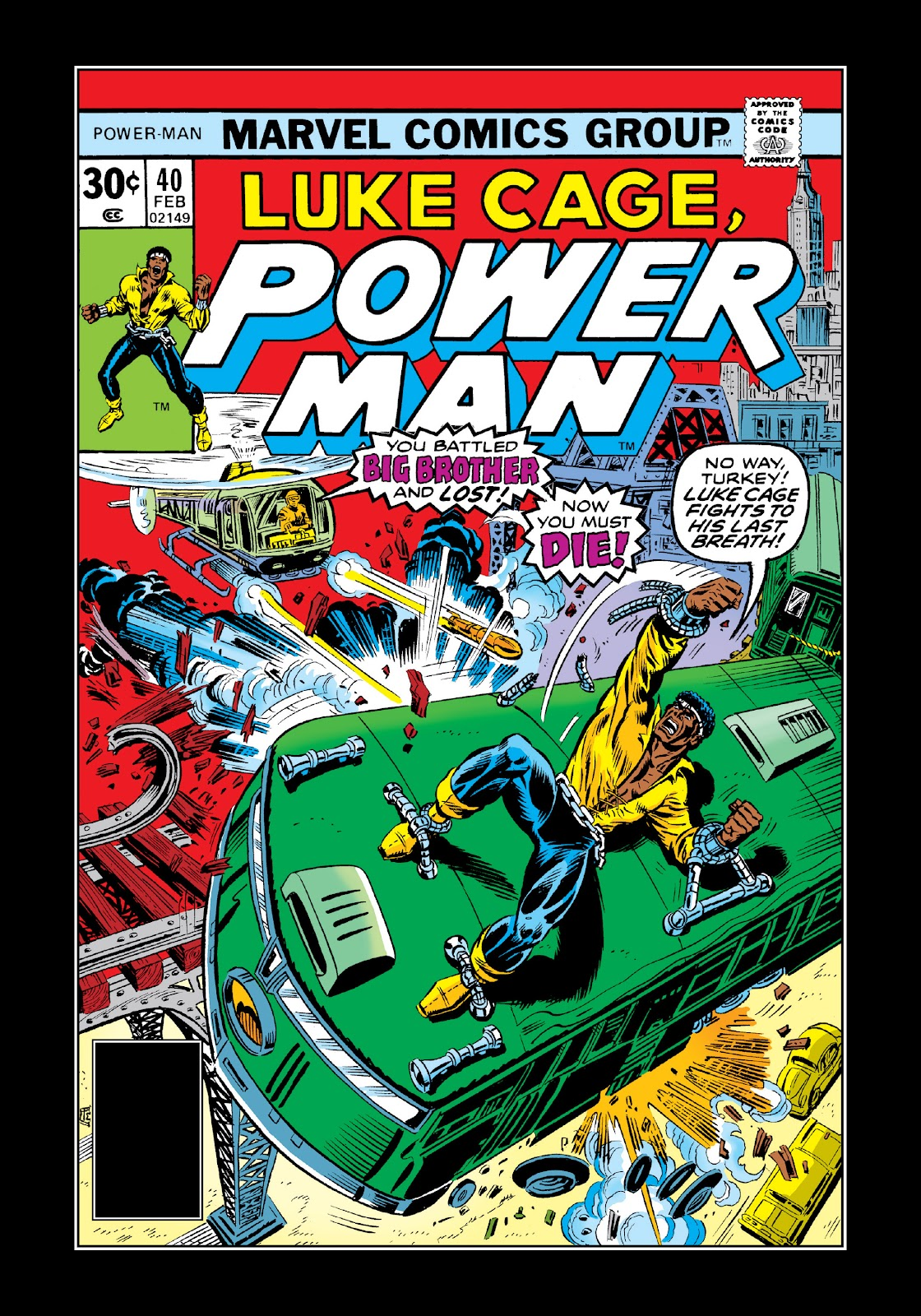 Read online Marvel Masterworks: Luke Cage, Power Man comic -  Issue # TPB 3 (Part 2) - 73