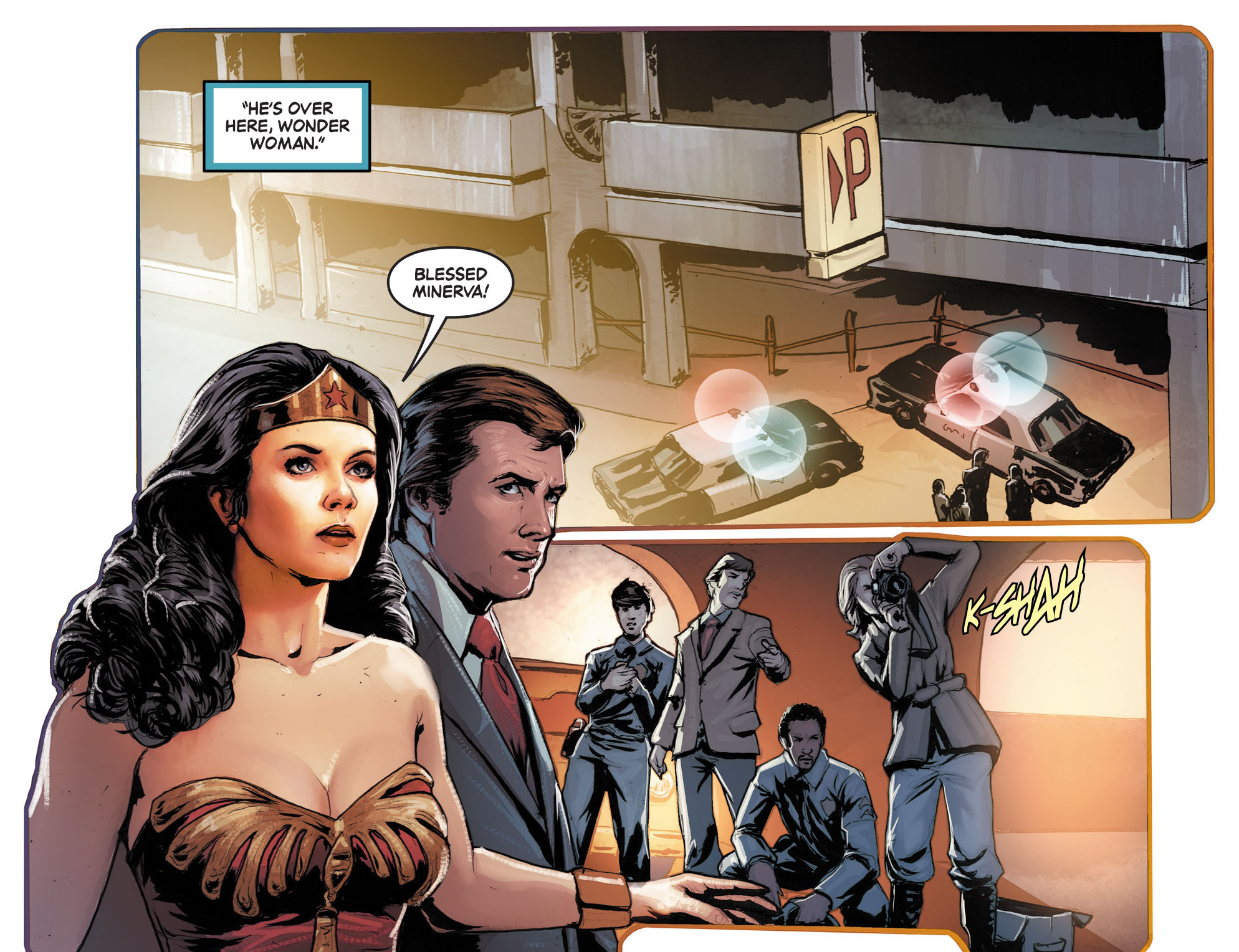 Read online Wonder Woman '77 [I] comic -  Issue #10 - 9