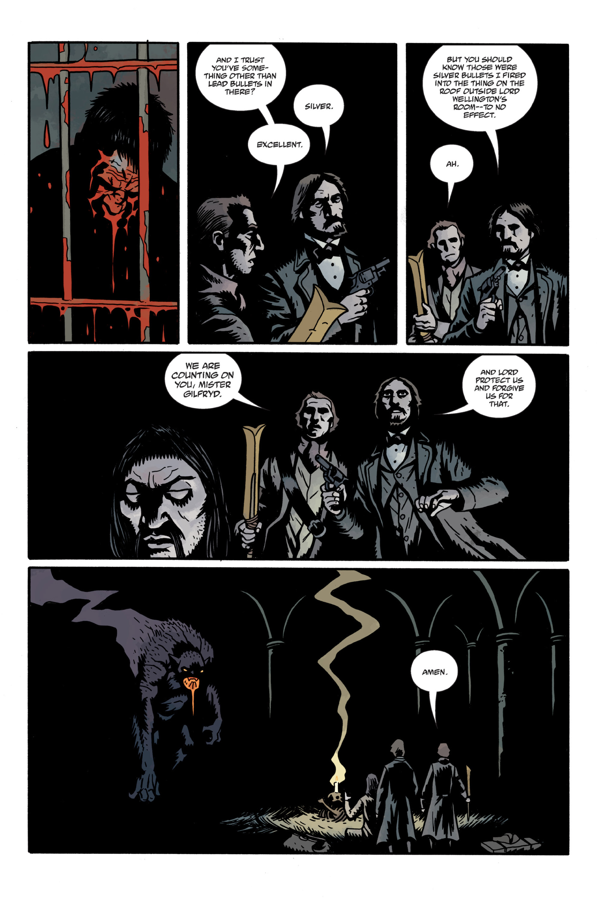 Read online Sir Edward Grey, Witchfinder: In the Service of Angels comic -  Issue # TPB - 109