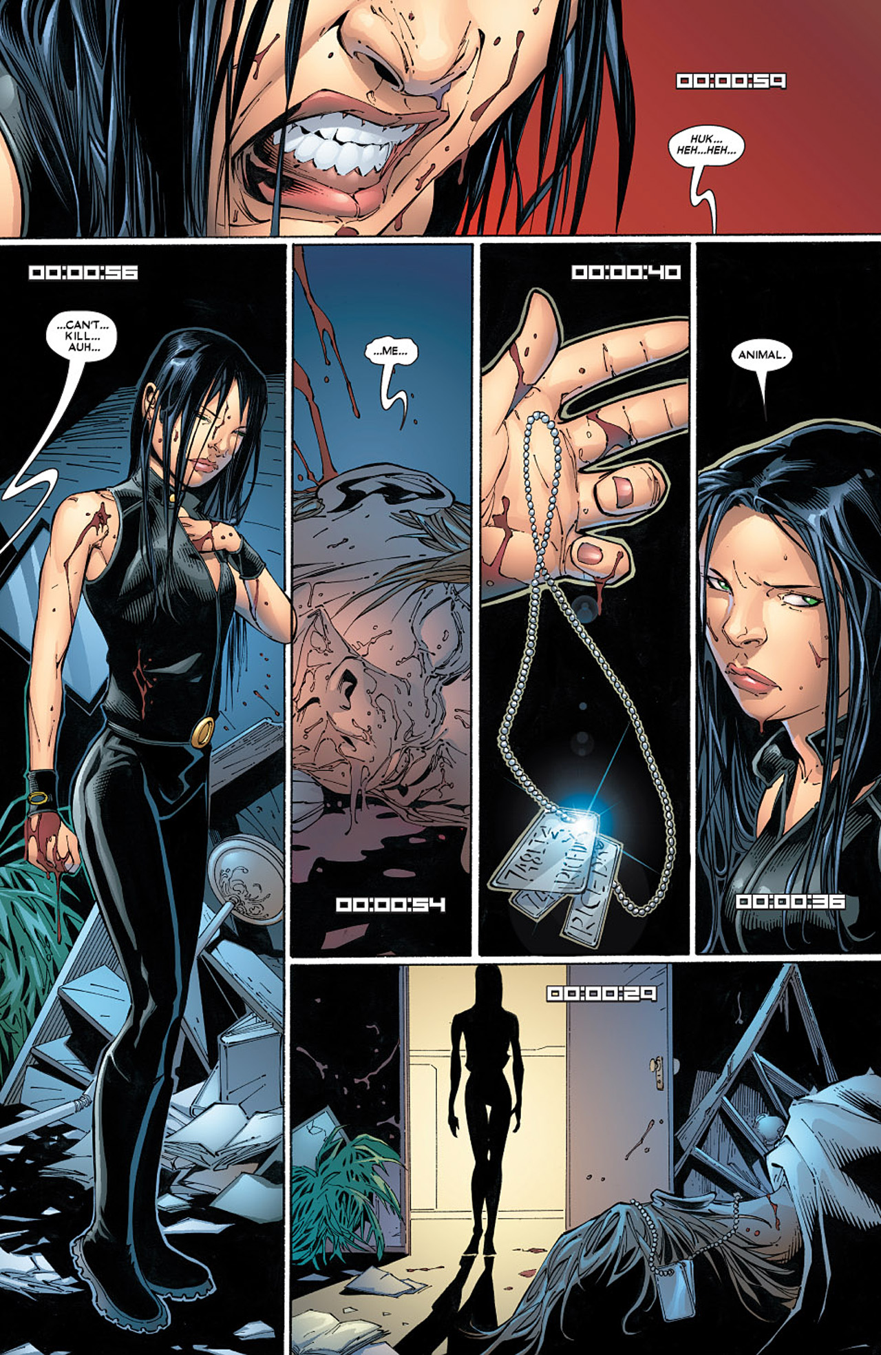 Read online X-23 (2005) comic -  Issue #6 - 18