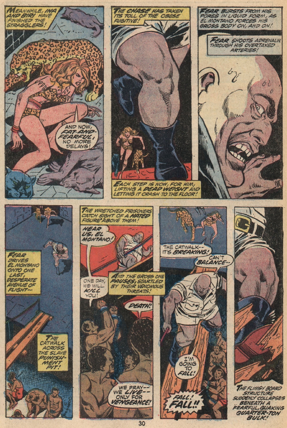 Read online Shanna, the She-Devil (1972) comic -  Issue #2 - 20
