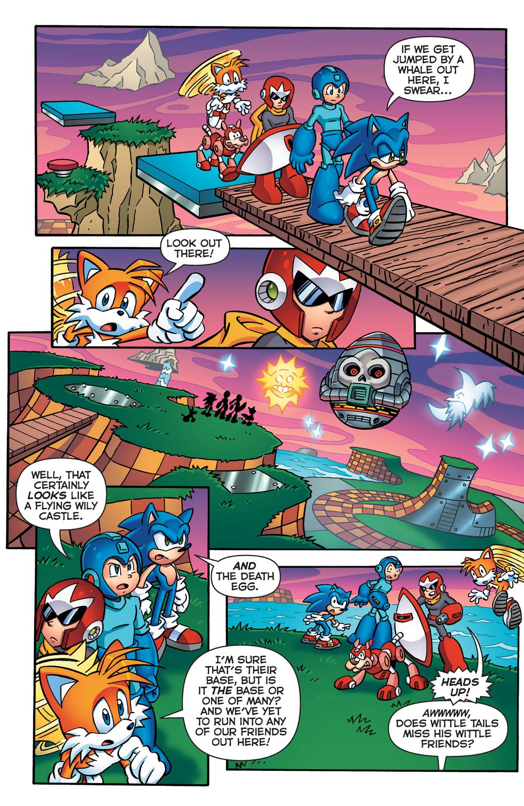 Read online Sonic Mega Man Worlds Collide comic -  Issue # Vol 2 - 28