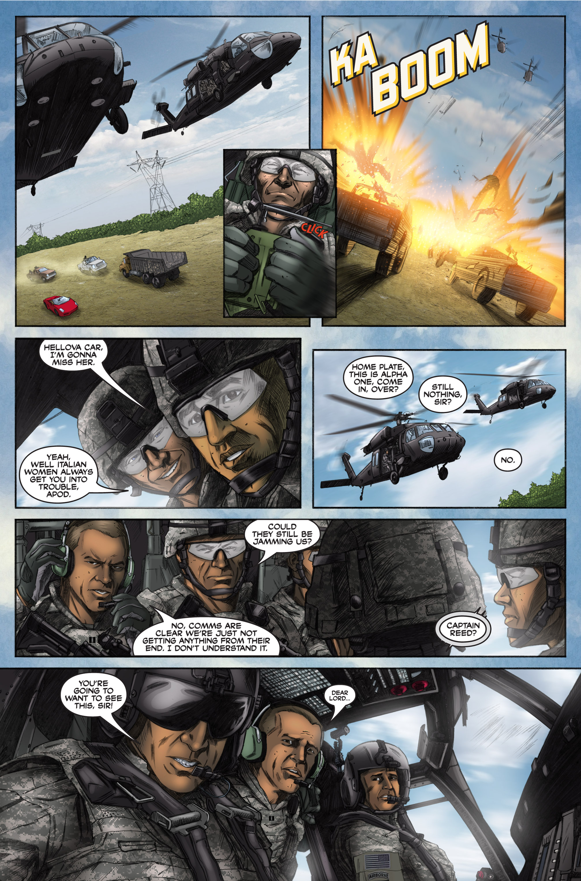 Read online America's Army comic -  Issue #6 - 37