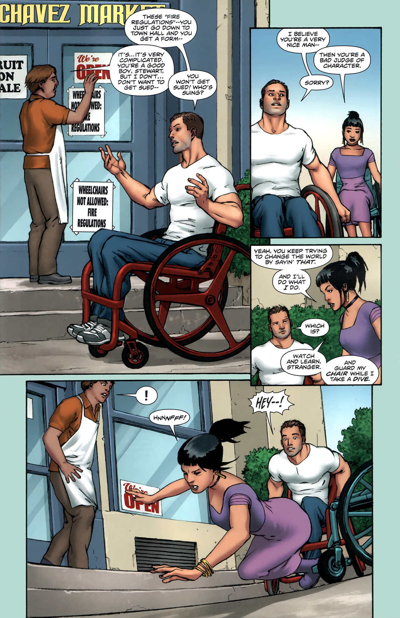 Read online Soldier Zero comic -  Issue #1 - 6