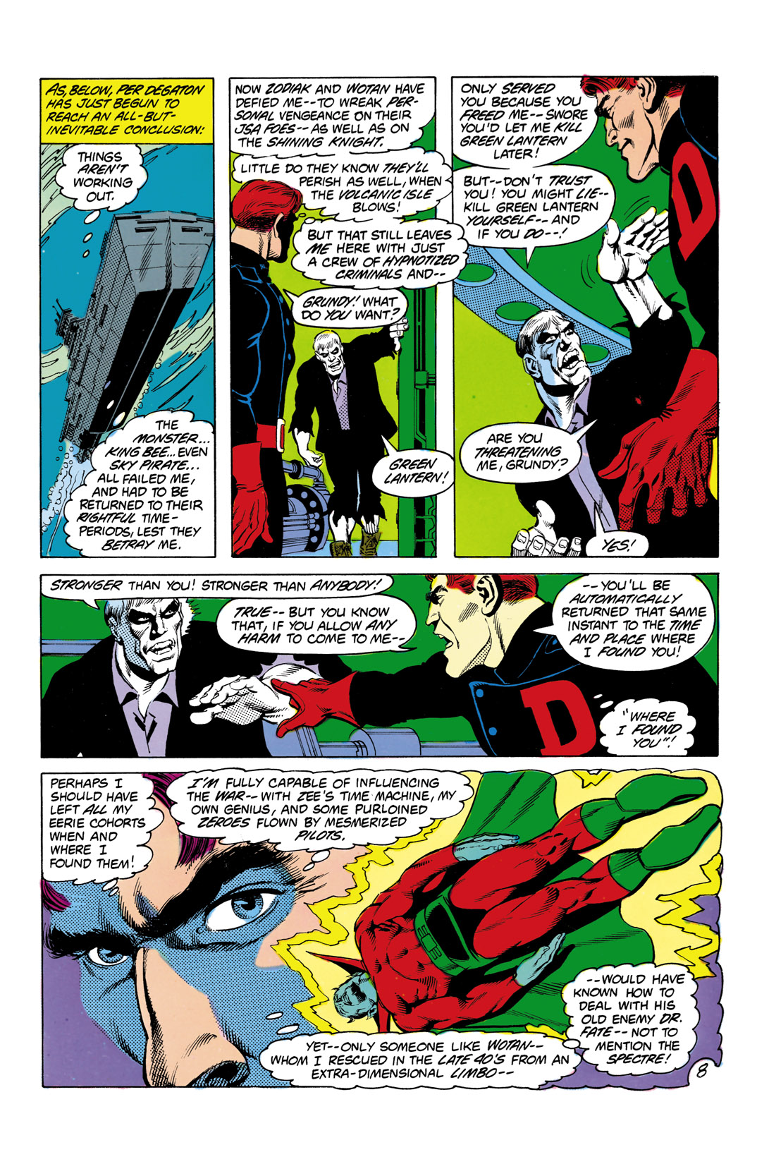 Read online All-Star Squadron comic -  Issue #3 - 9