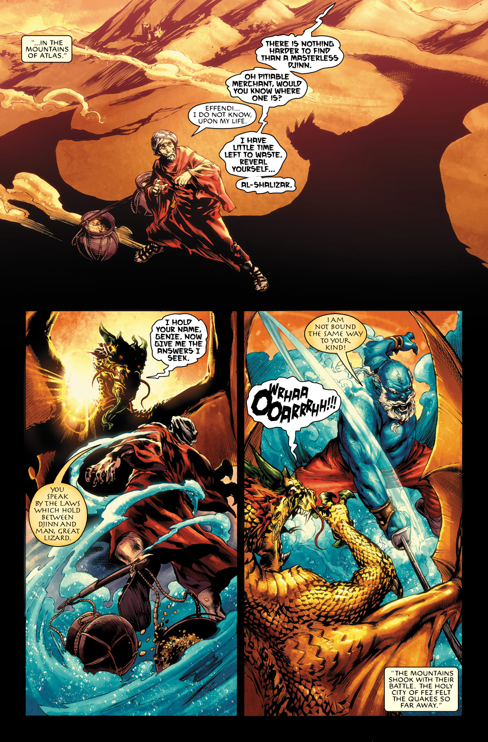 Read online Agents Of Atlas (2009) comic -  Issue #0 - 21