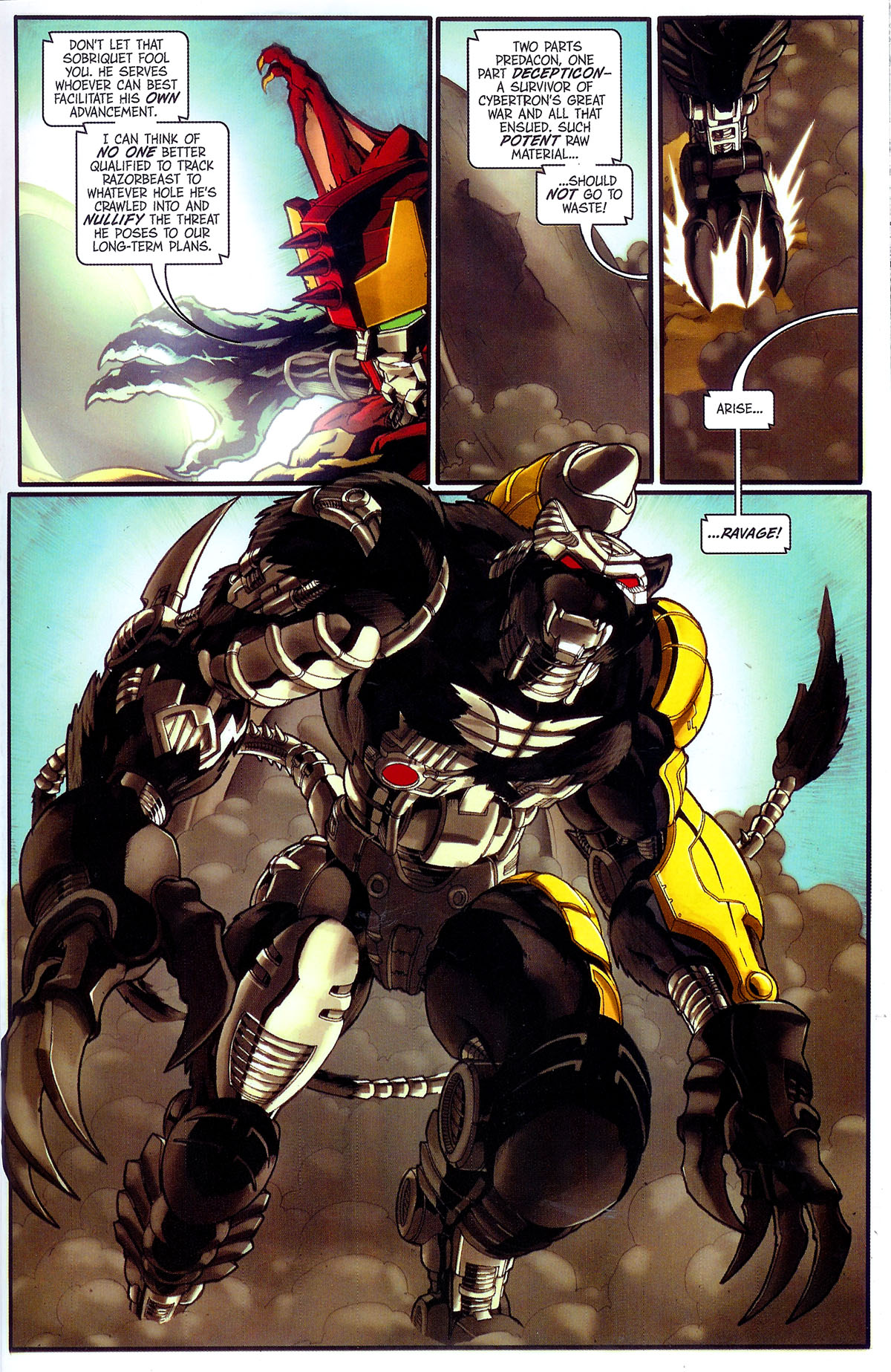 Read online Transformers, Beast Wars: The Gathering comic -  Issue #3 - 14