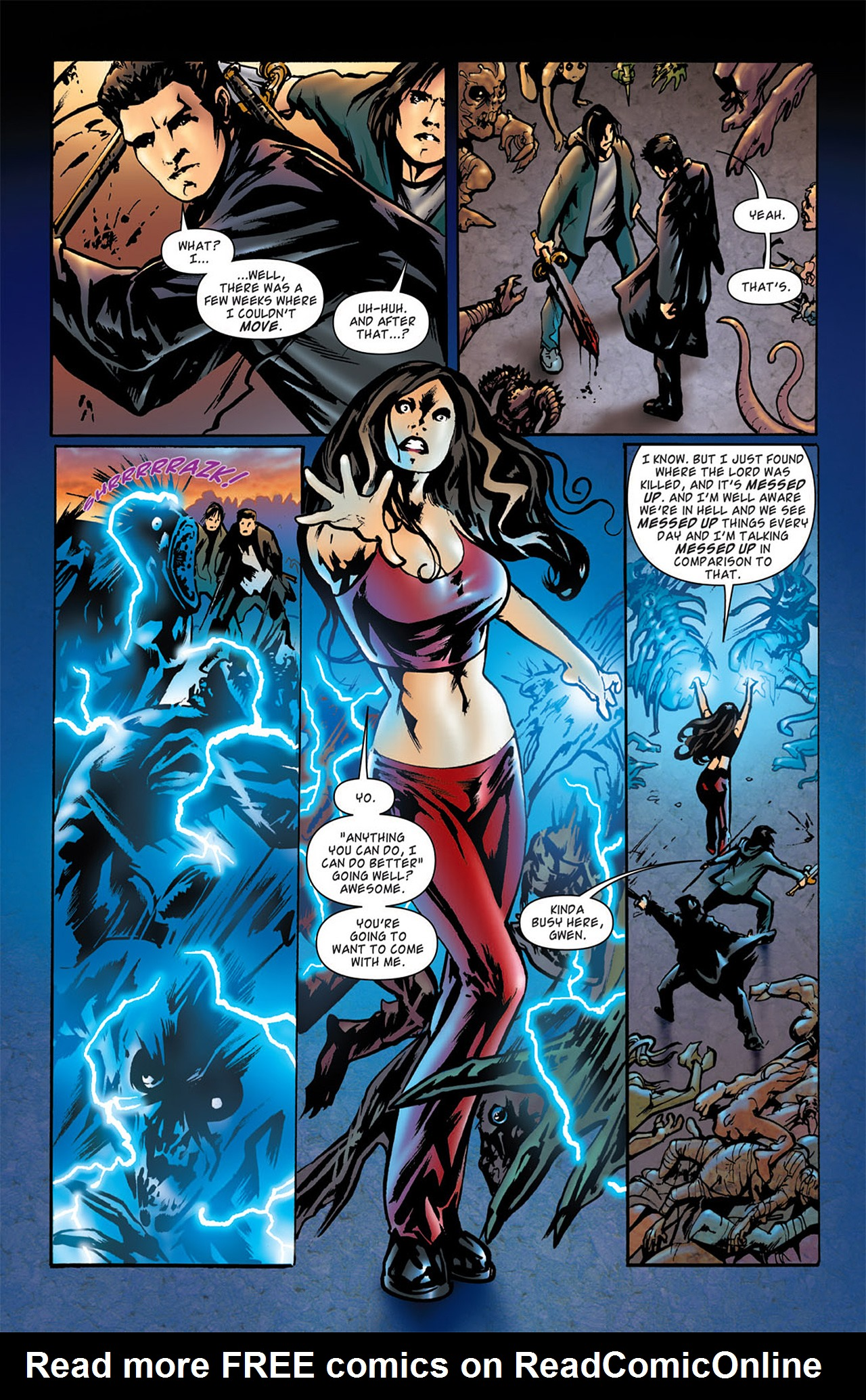 Read online Angel: After The Fall comic -  Issue #2 - 11