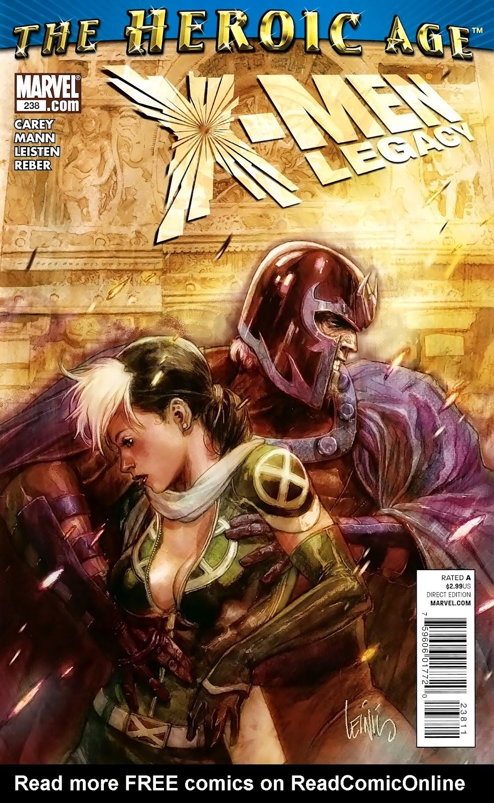 X-Men Legacy (2008) 238 Page 1