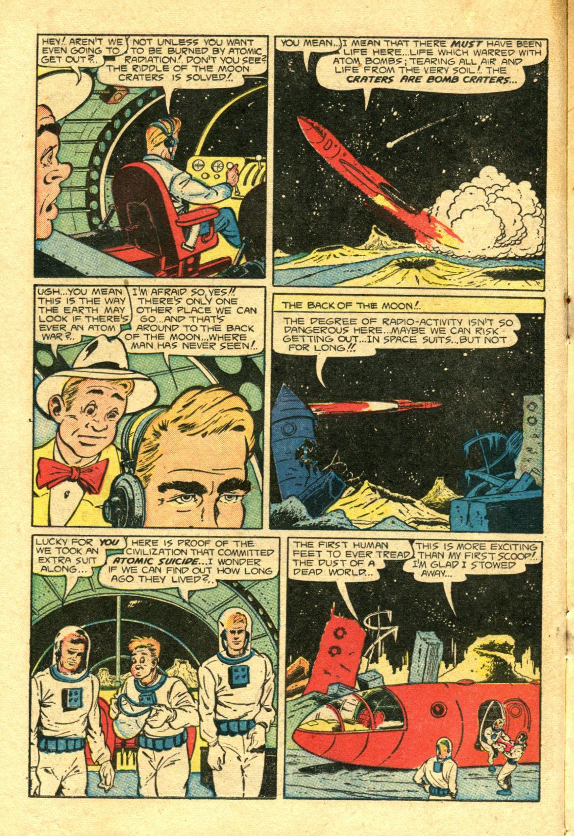 Read online Shadow Comics comic -  Issue #98 - 22