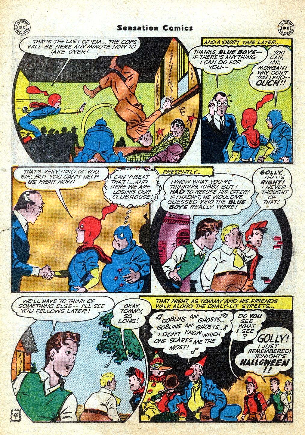 Read online Sensation (Mystery) Comics comic -  Issue #60 - 20