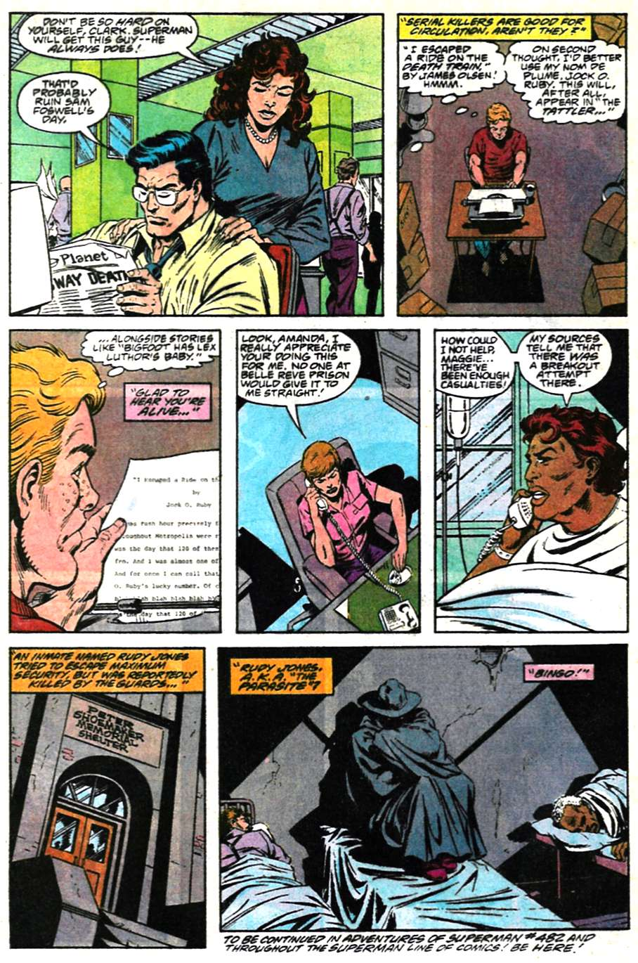 Read online Adventures of Superman (1987) comic -  Issue #481 - 23