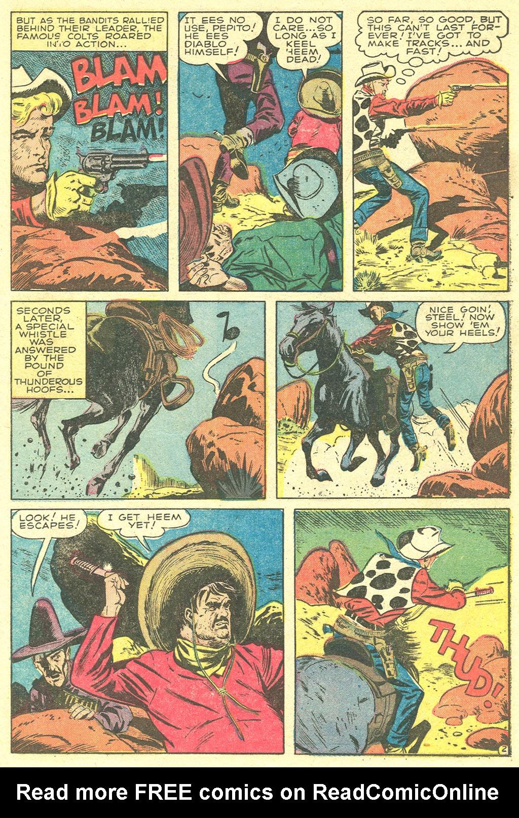 Read online Two-Gun Kid comic -  Issue #21 - 21
