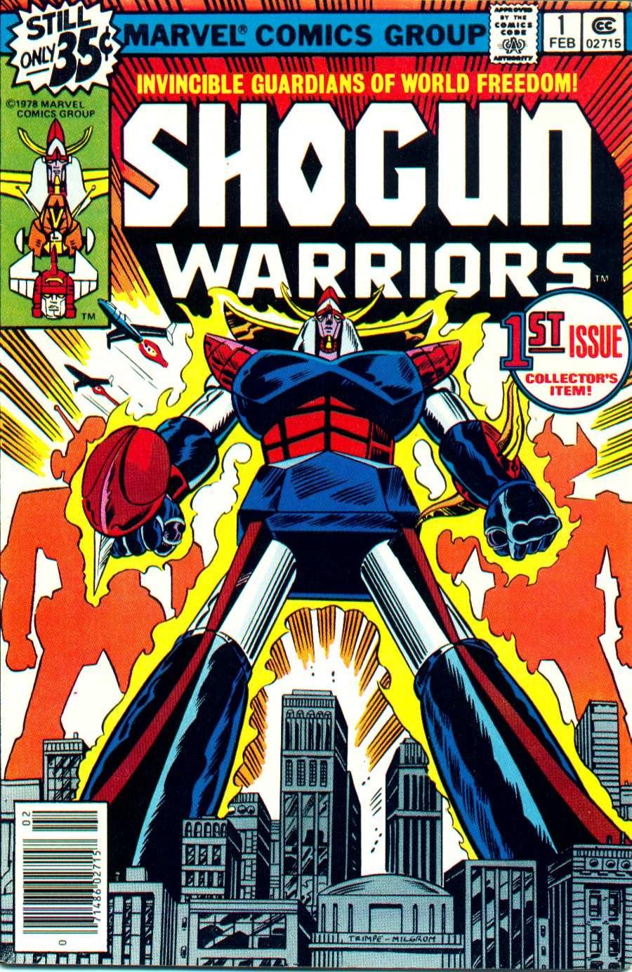 Shogun Warriors 1 Page 1
