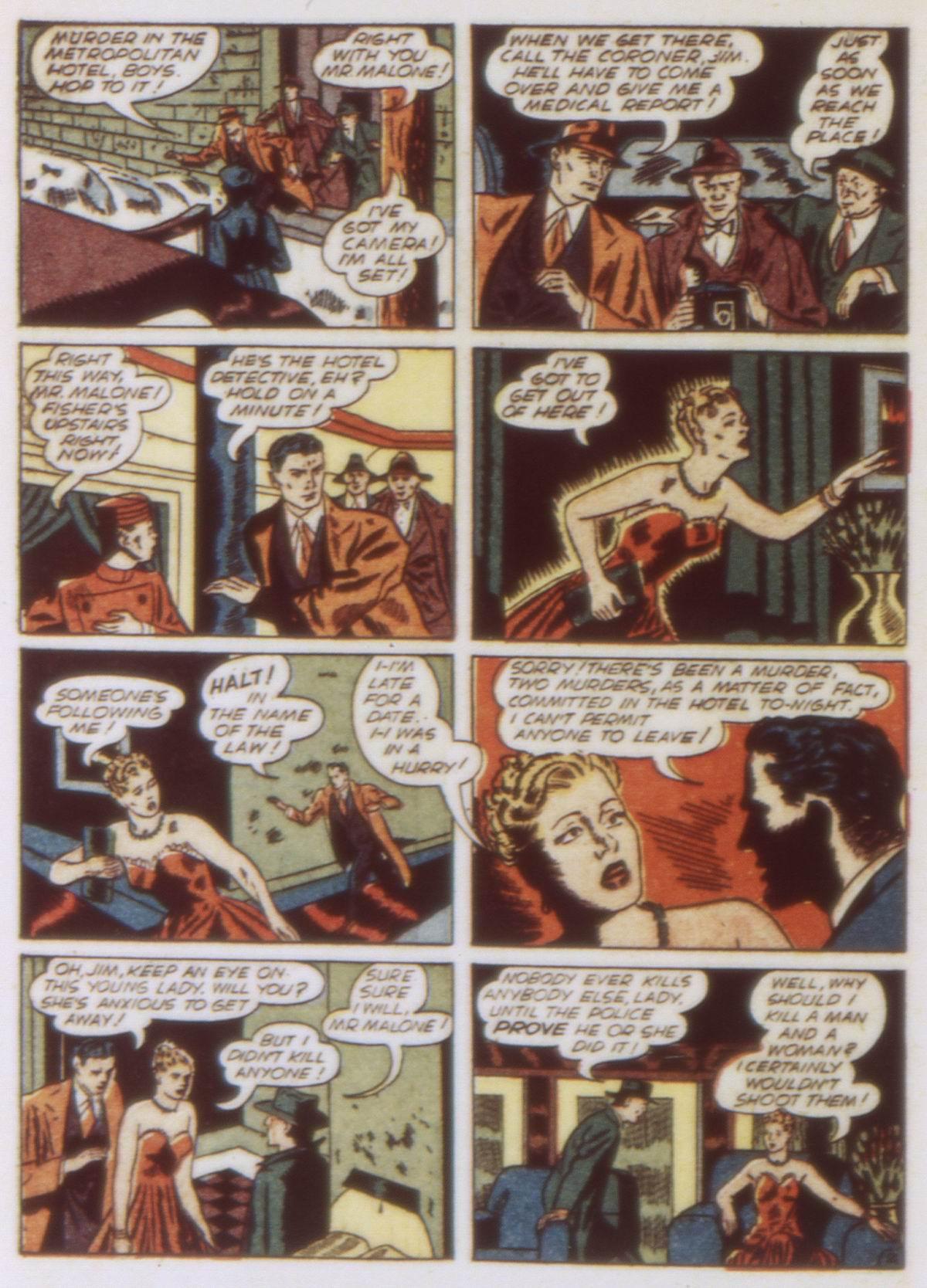 Read online Detective Comics (1937) comic -  Issue #58 - 52