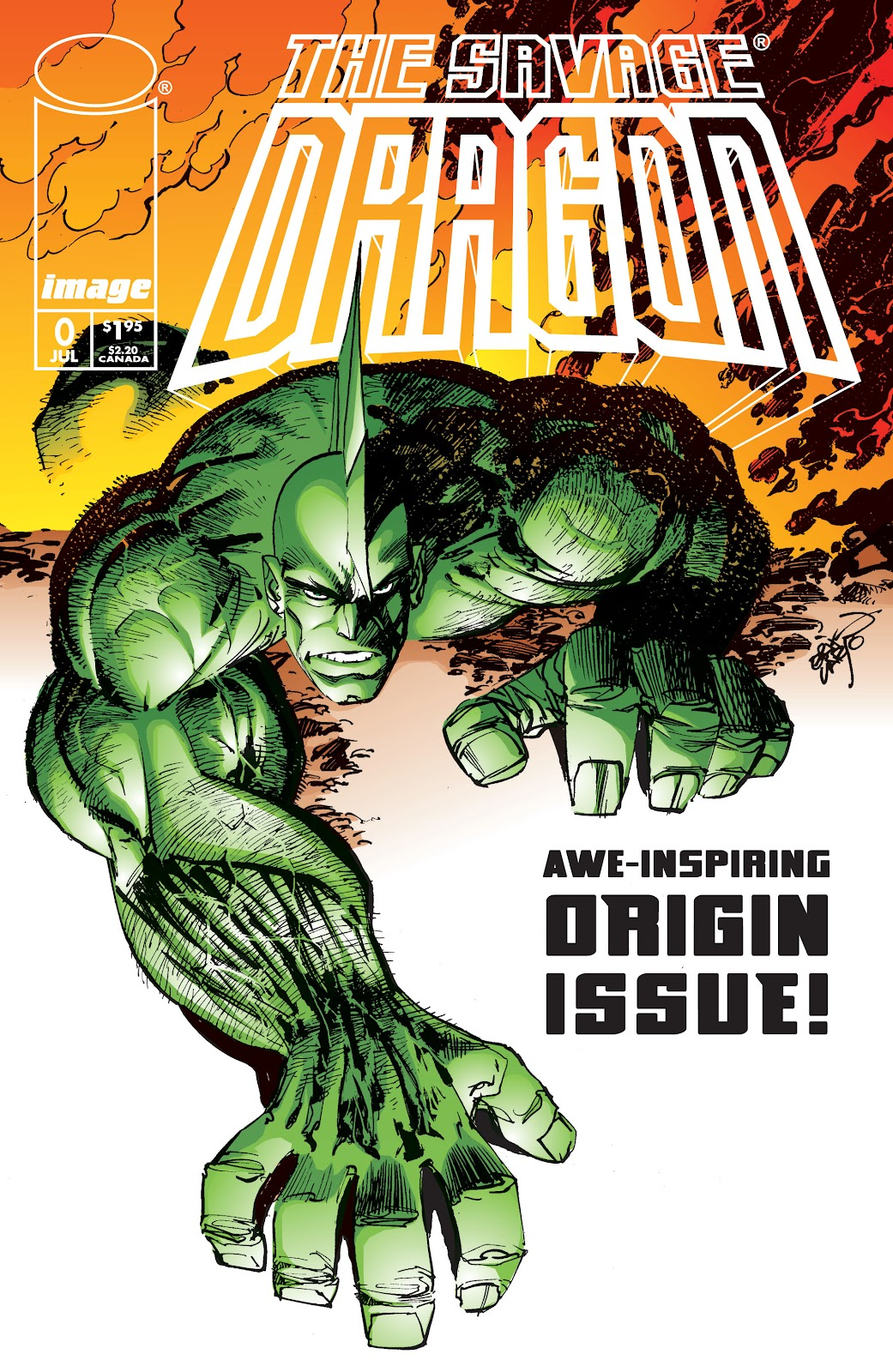 The Savage Dragon (1993) Issue #0 #1 - English 1