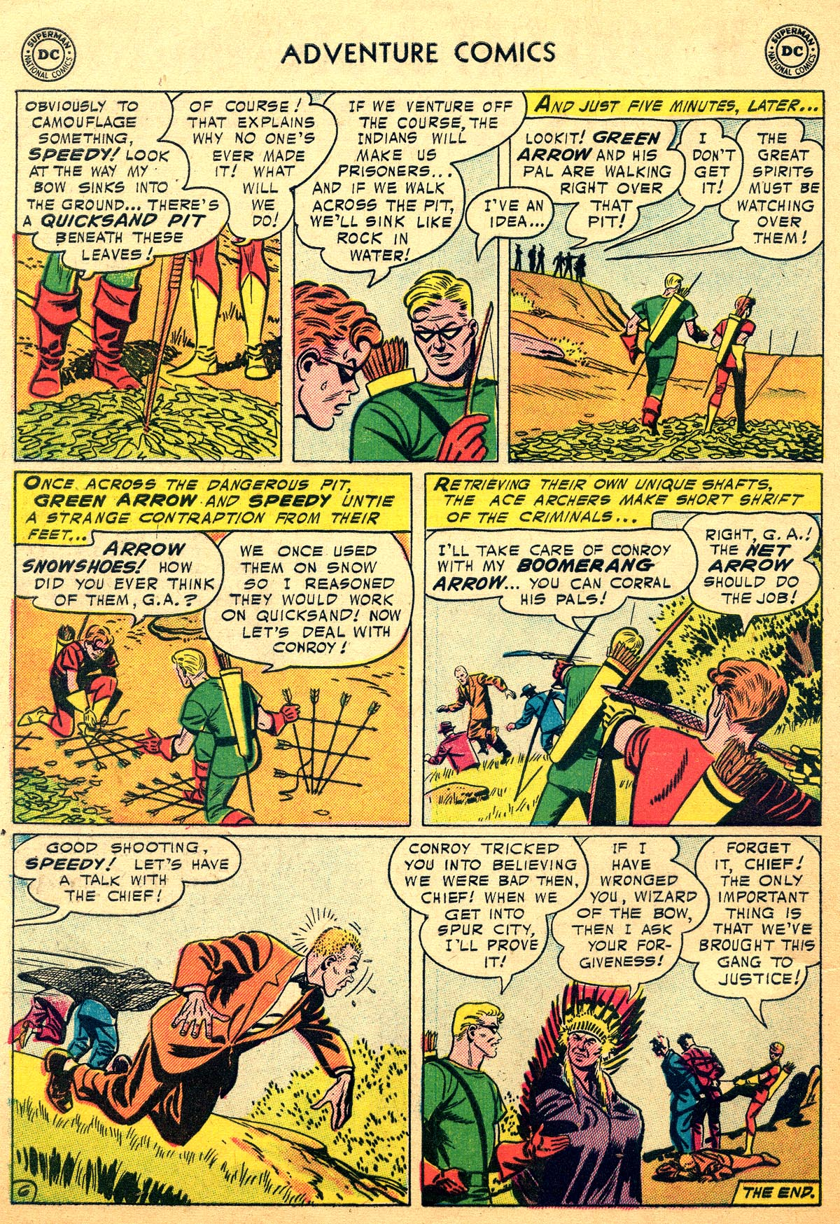 Read online Adventure Comics (1938) comic -  Issue #216 - 32