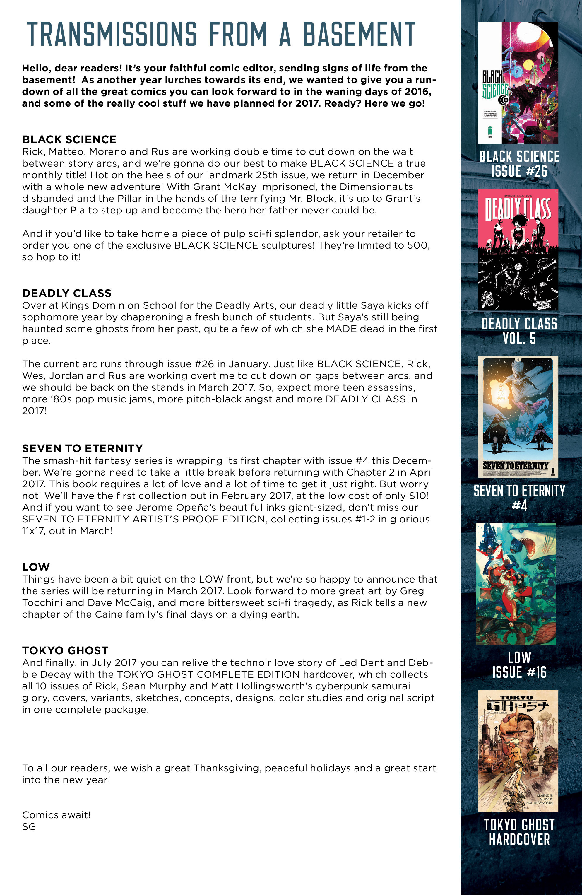 Read online Deadly Class comic -  Issue #25 - 23