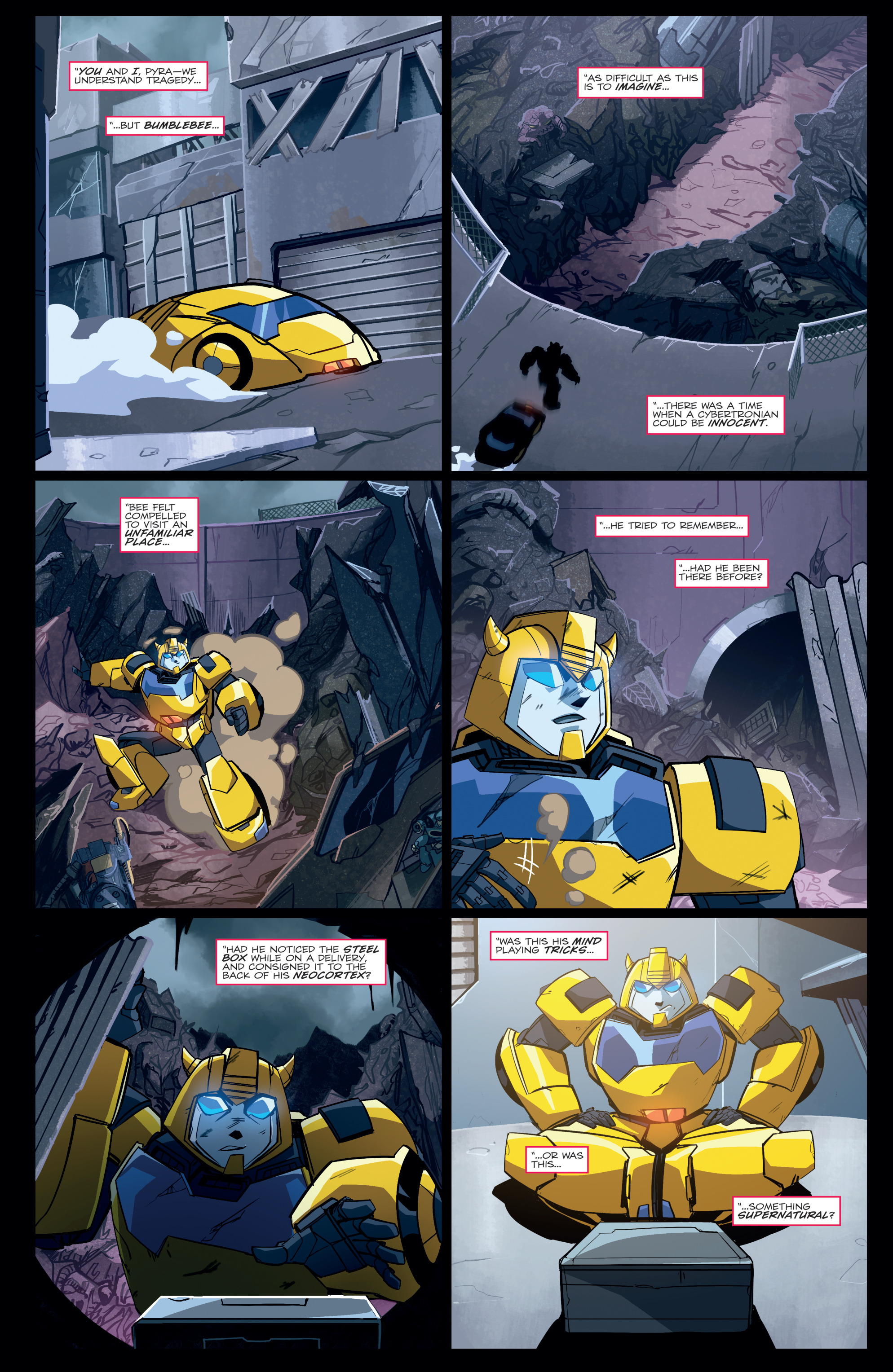 Read online Transformers Annual comic -  Issue # Full - 11