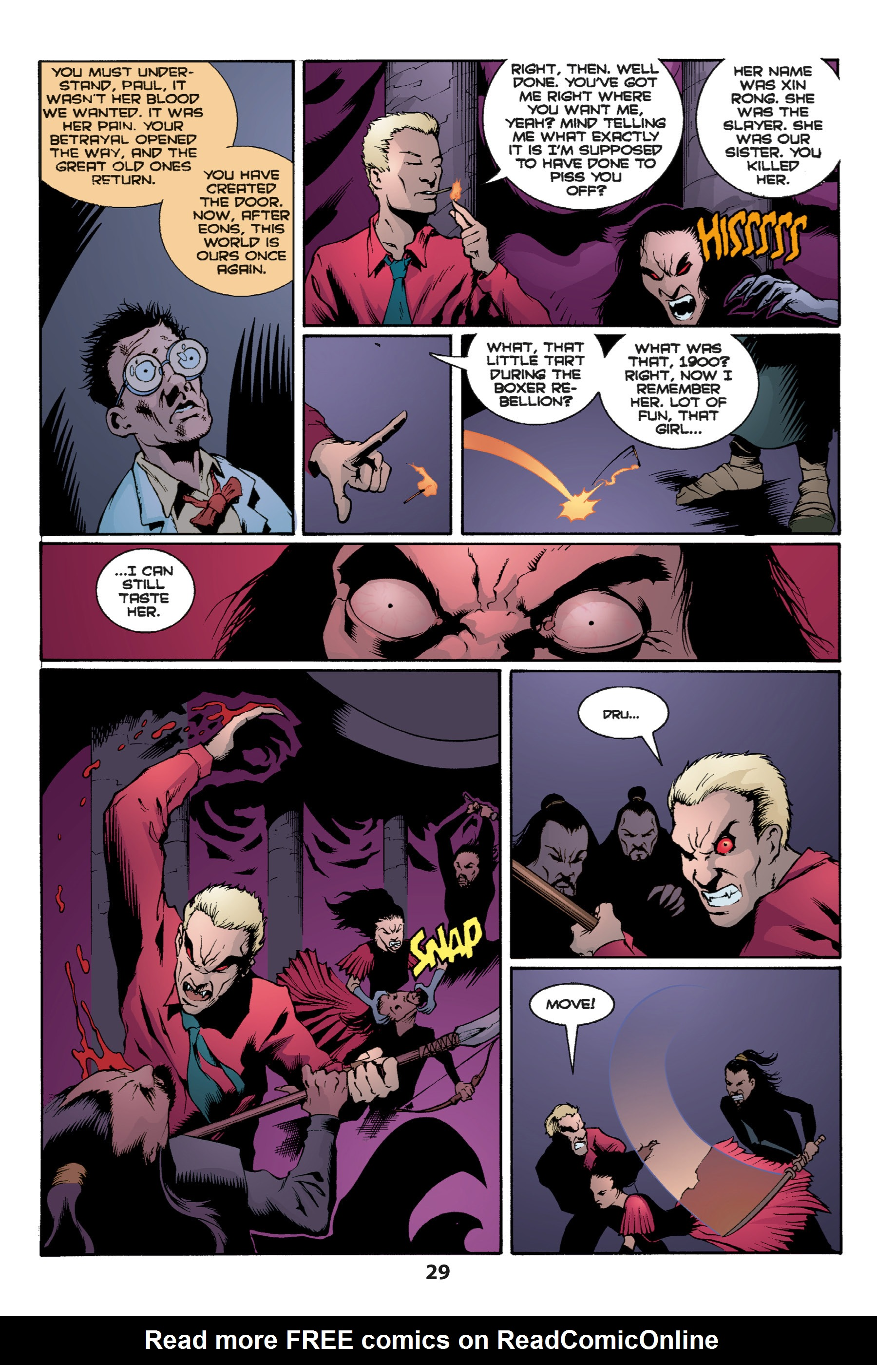 Read online Buffy the Vampire Slayer: Omnibus comic -  Issue # TPB 1 - 31
