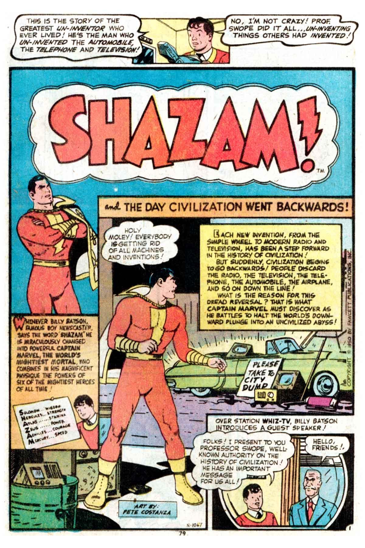 Read online Shazam! (1973) comic -  Issue #15 - 79