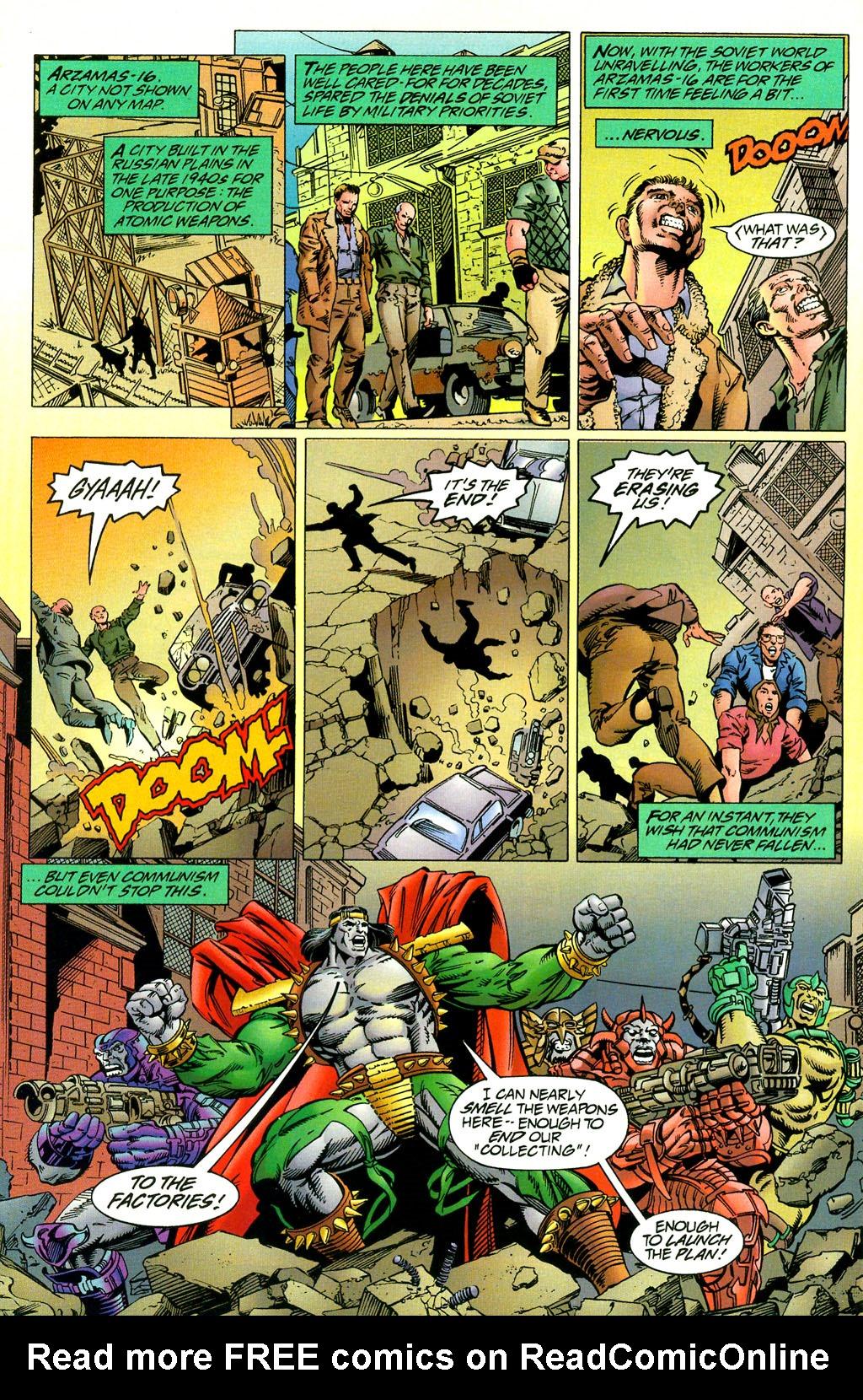 Read online UltraForce (1994) comic -  Issue #2 - 17
