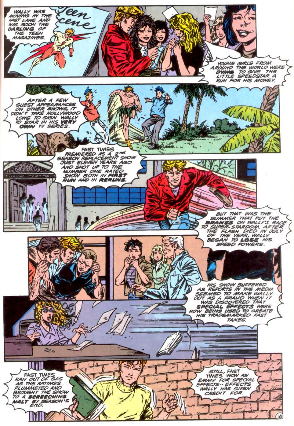 Read online The Flash (1987) comic -  Issue # _Annual 7 - 17