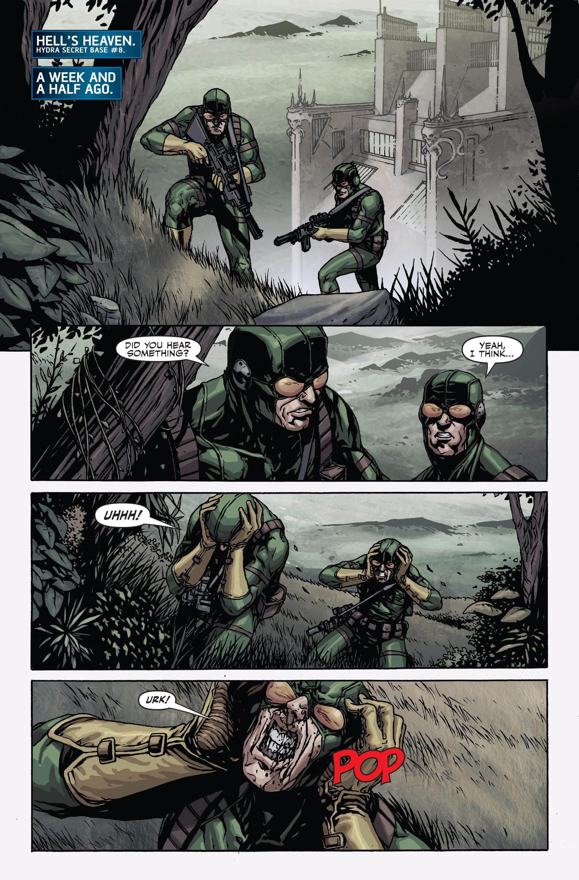 Read online Secret Warriors comic -  Issue #17 - 17