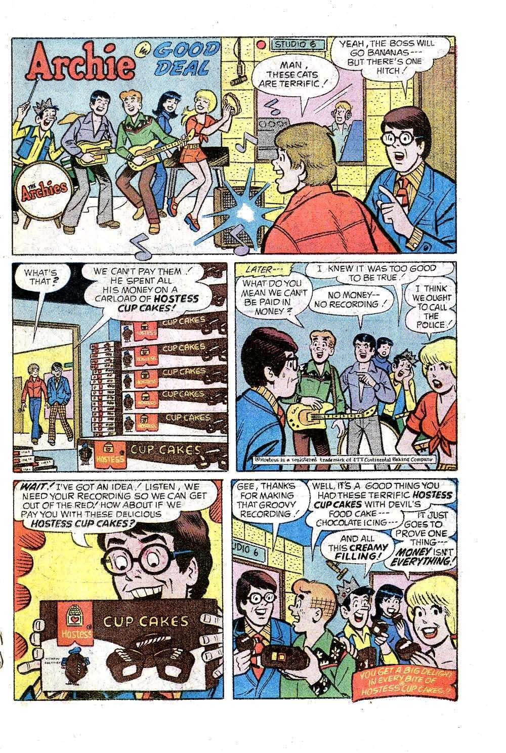 Read online Archie (1960) comic -  Issue #244 - 19