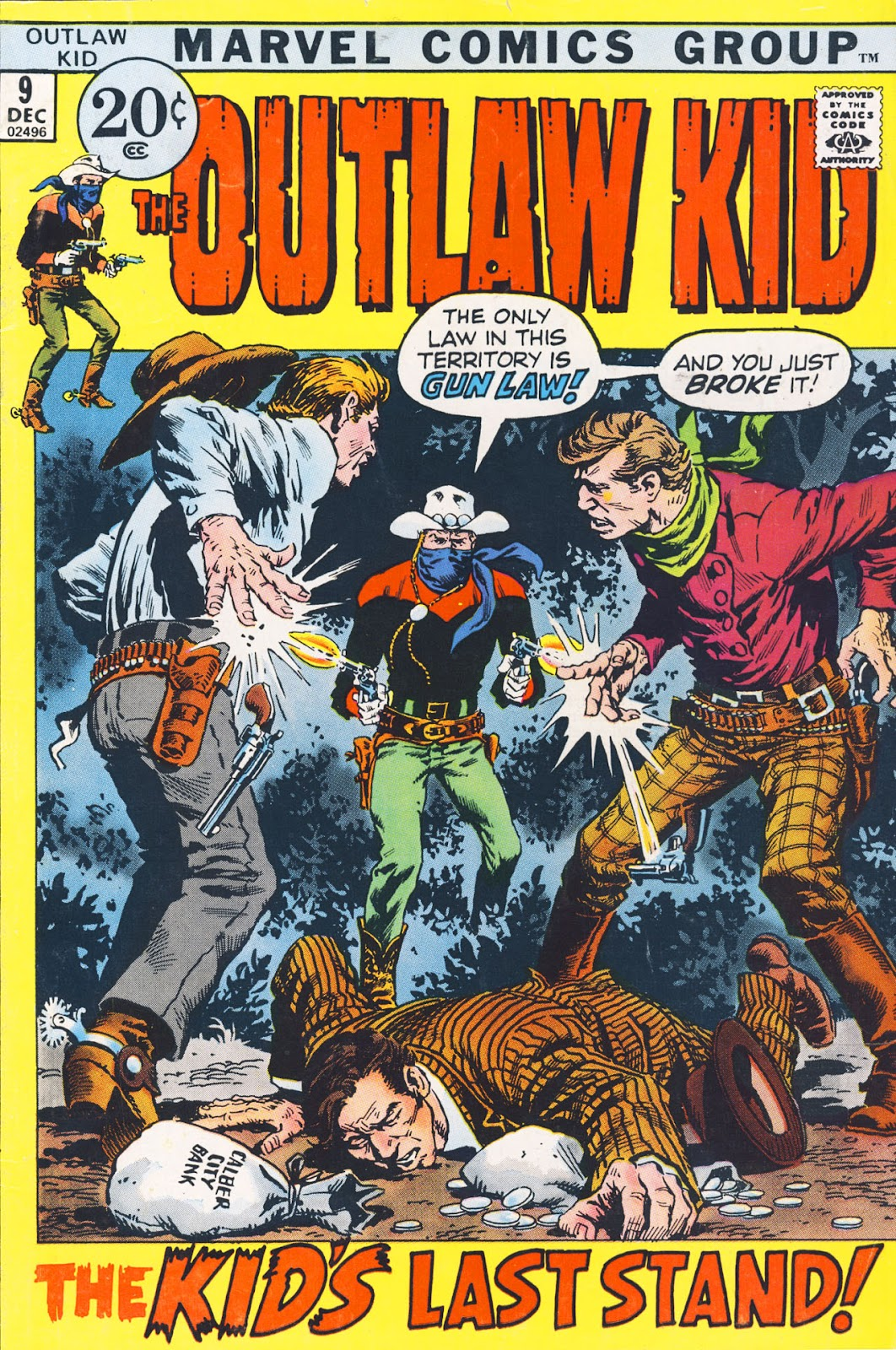 The Outlaw Kid (1970) 9 Page 1