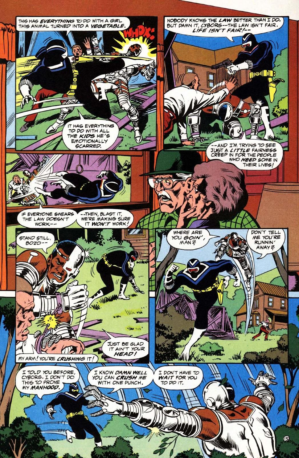 Vigilante (1983) issue 3 - Page 16