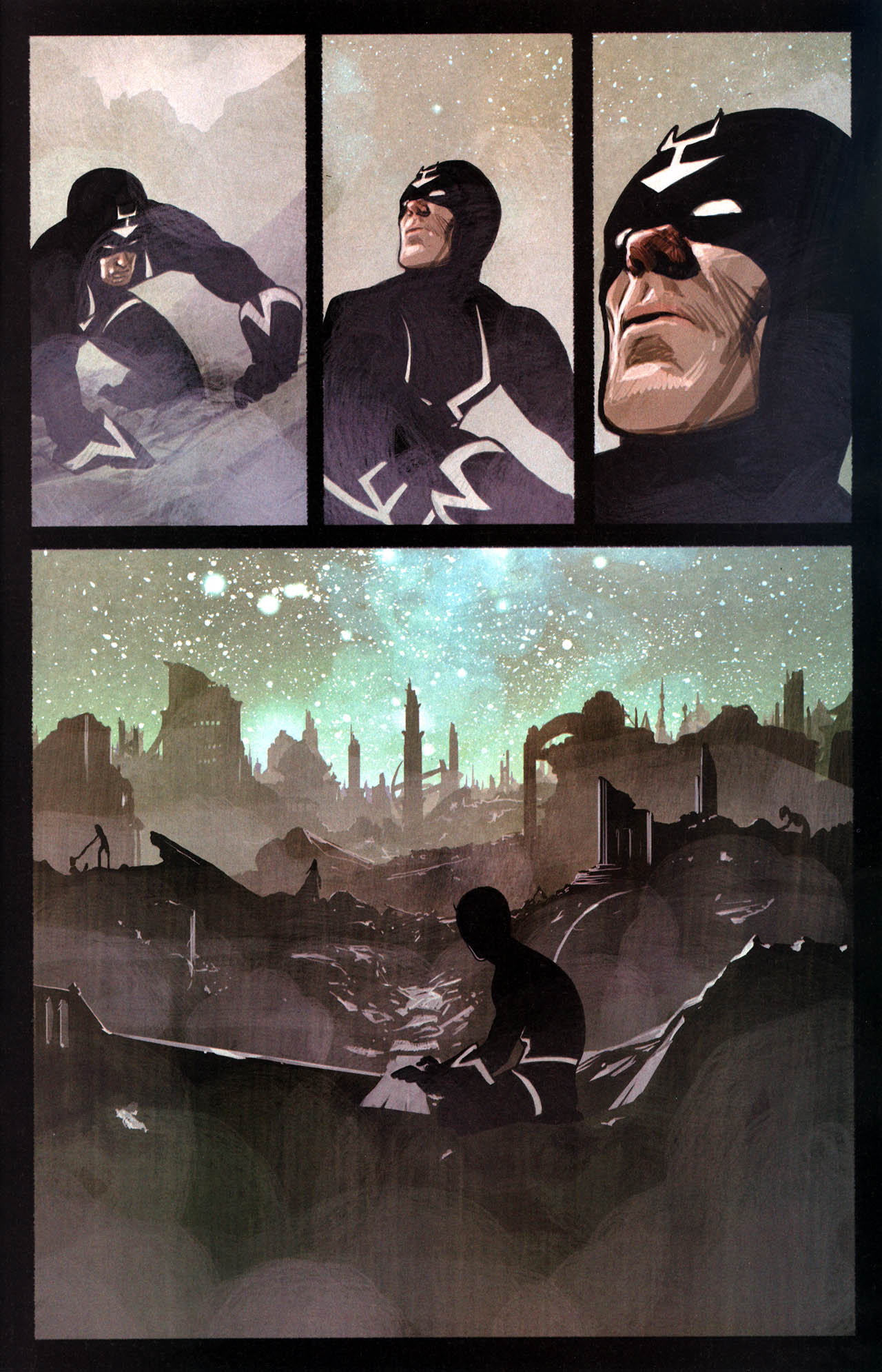 Read online Silent War comic -  Issue #6 - 19